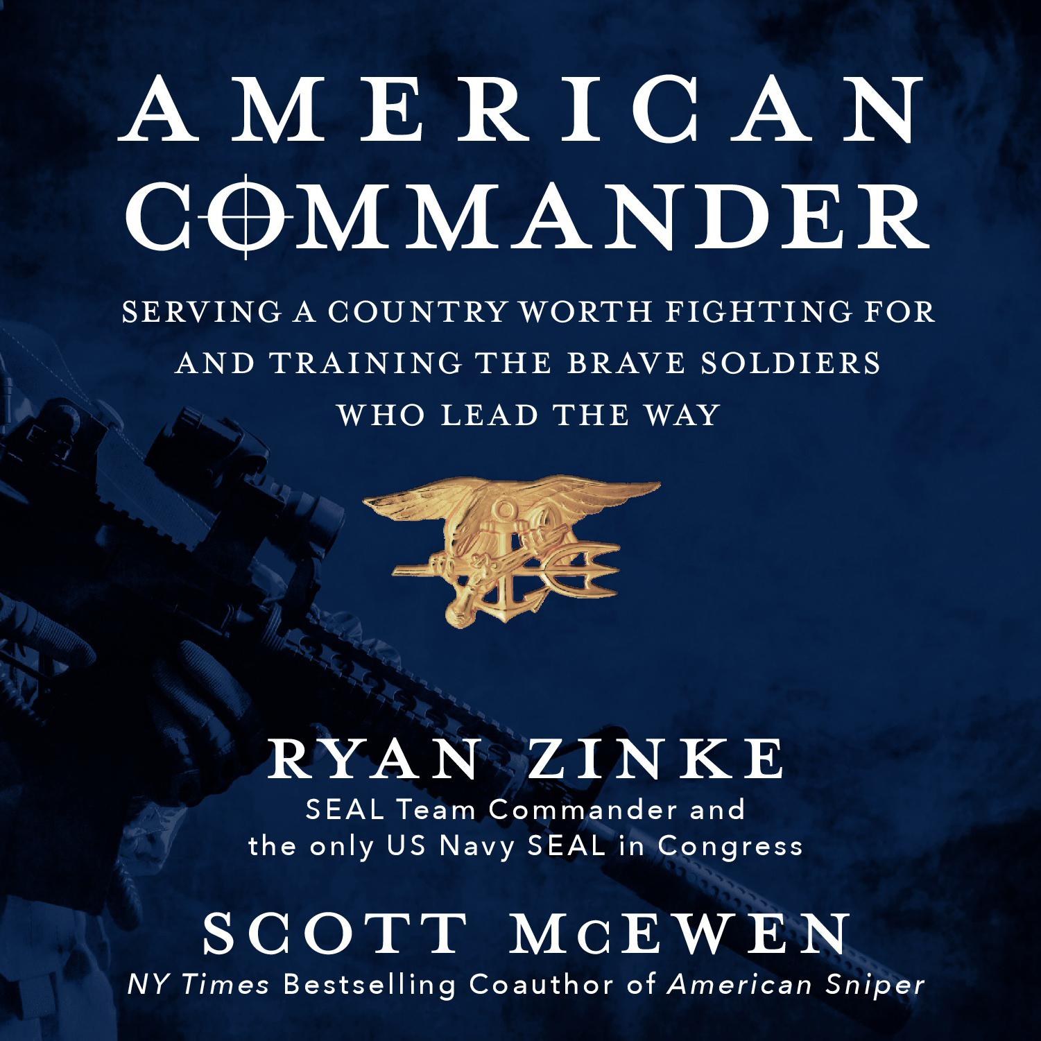 Printable American Commander: Serving a Country Worth Fighting For and Training the Brave Soldiers Who Lead the Way Audiobook Cover Art