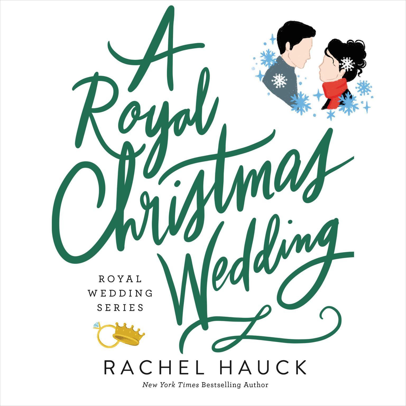 Printable A Royal Christmas Wedding Audiobook Cover Art