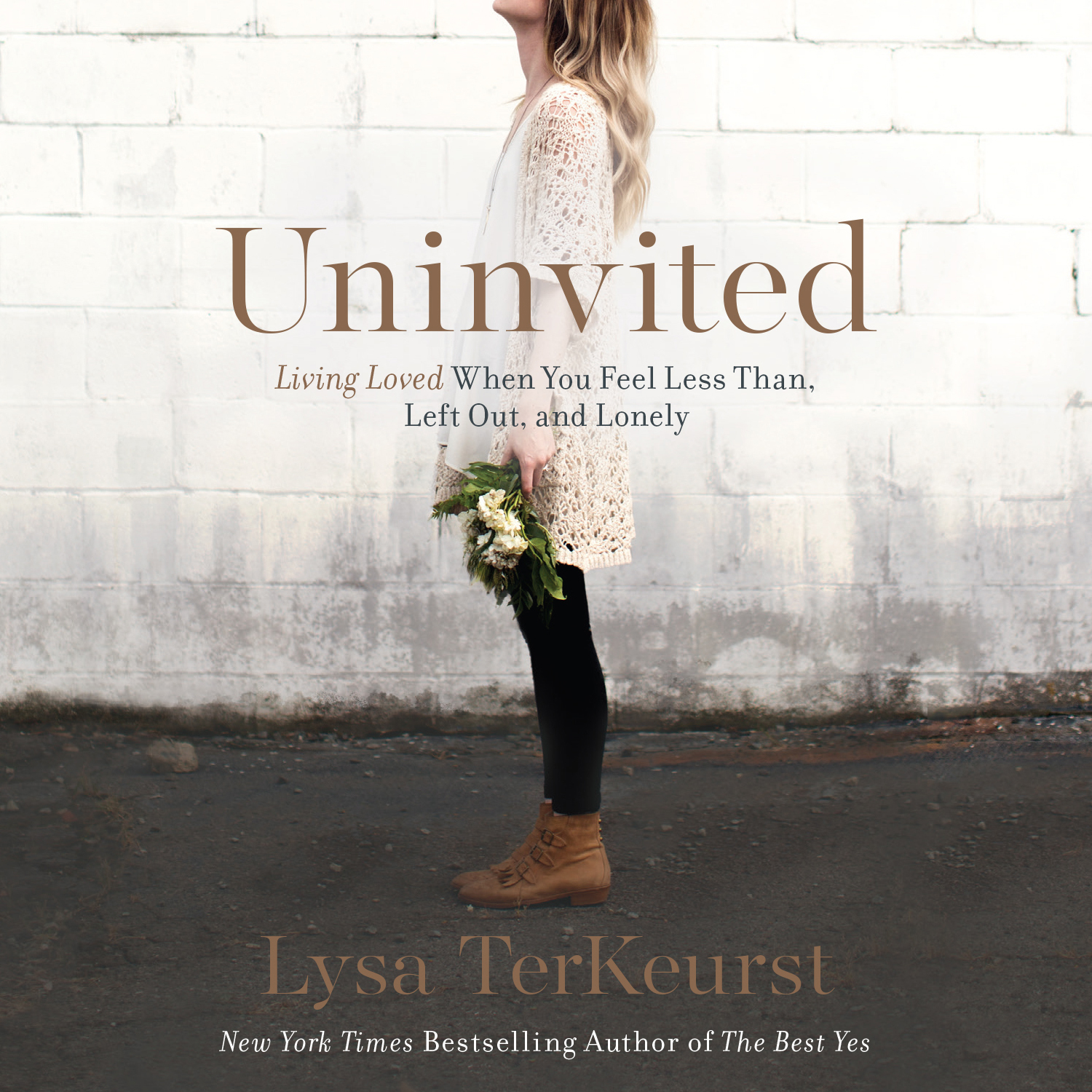 Printable Uninvited: Living Loved When You Feel Less Than, Left Out, and Lonely Audiobook Cover Art