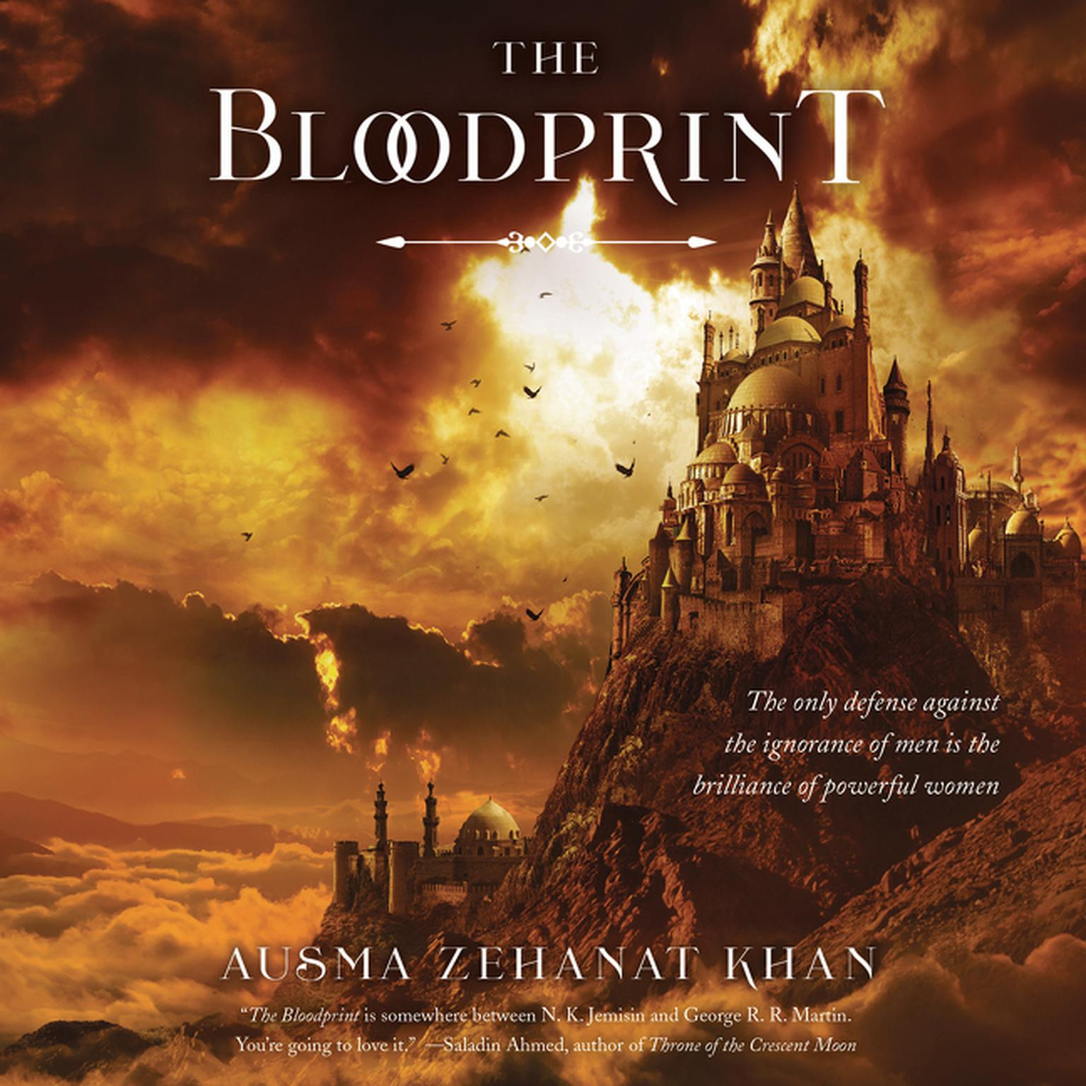 Printable The Bloodprint: Book One of the Khorasan Archives Audiobook Cover Art