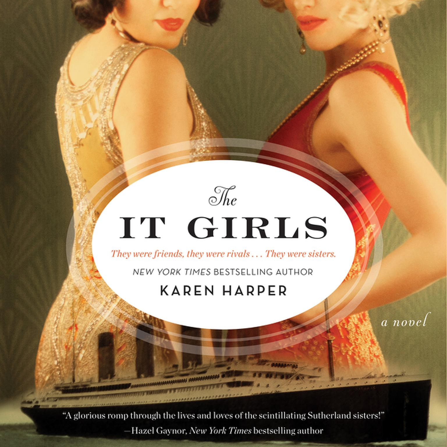 Printable The It Girls: A Novel Audiobook Cover Art