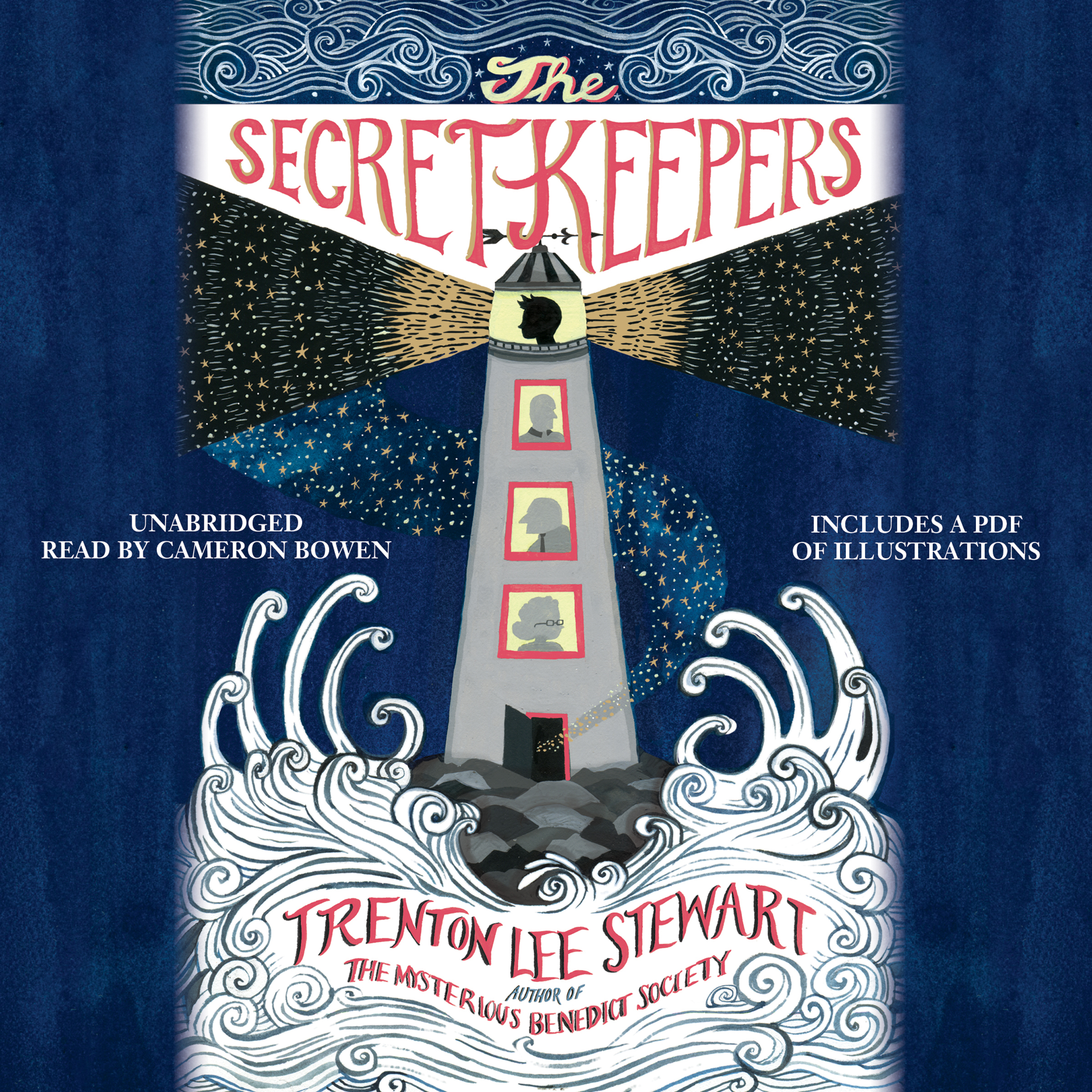 Printable The Secret Keepers Audiobook Cover Art