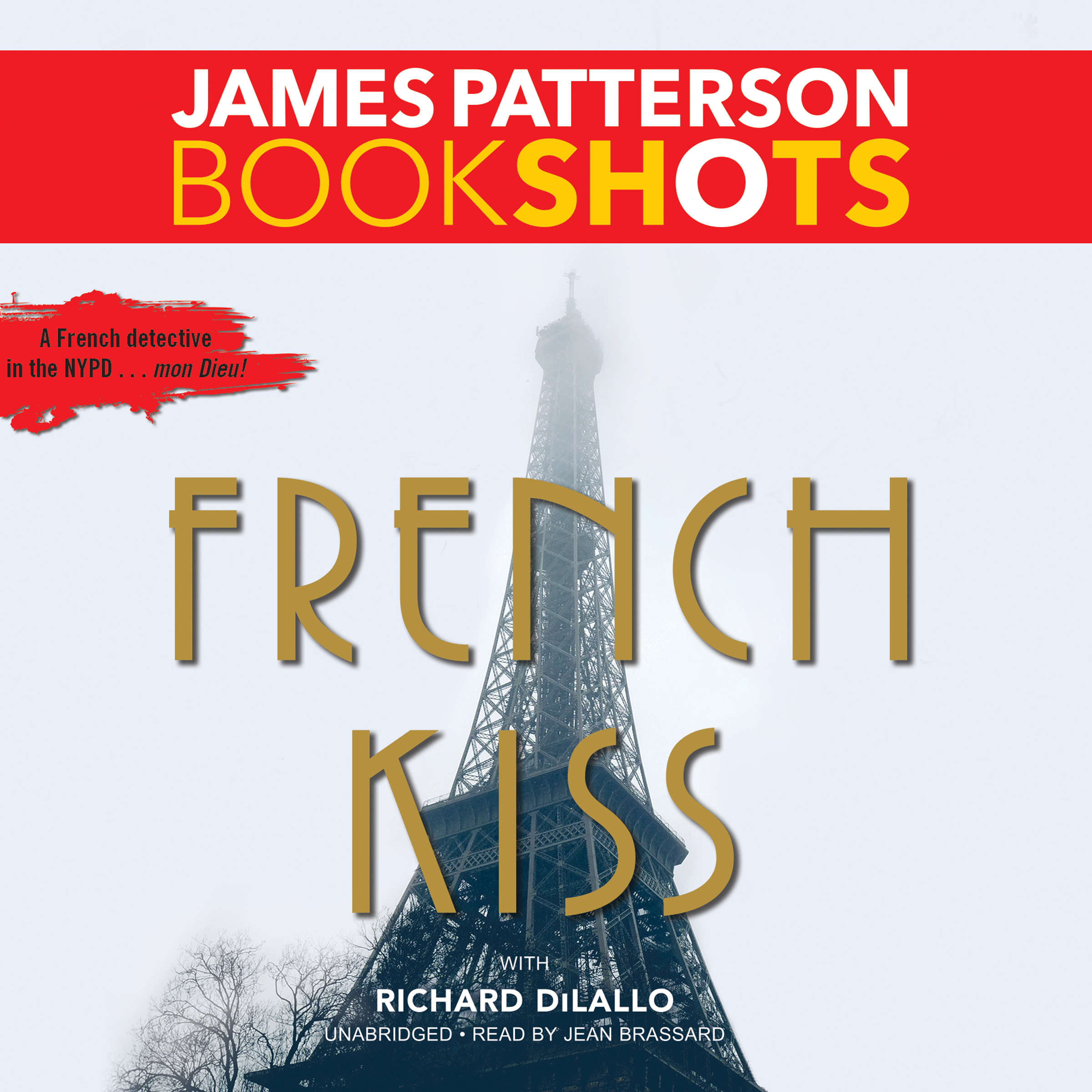 Printable French Kiss: A Detective Luc Moncrief Mystery Audiobook Cover Art