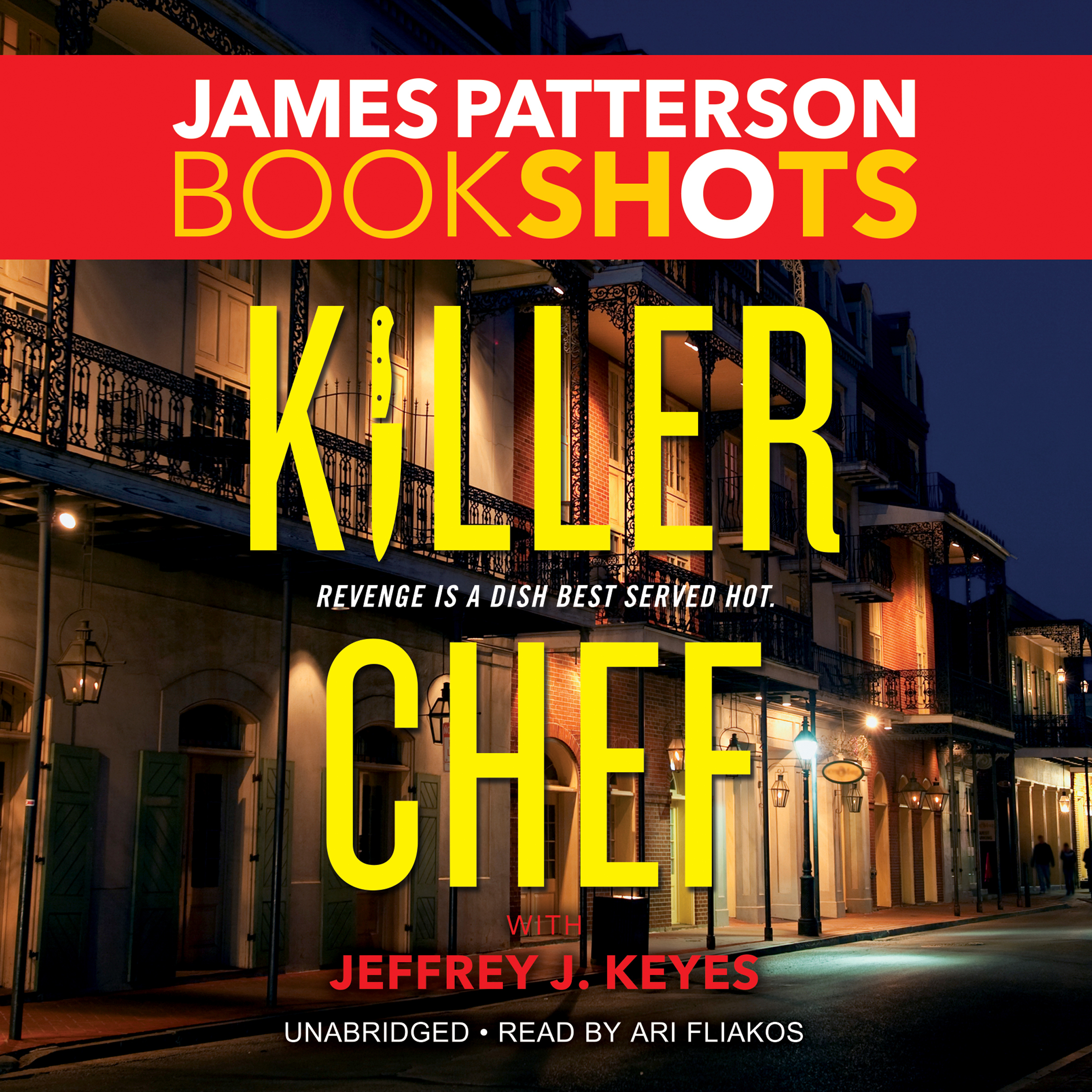 Printable Killer Chef Audiobook Cover Art