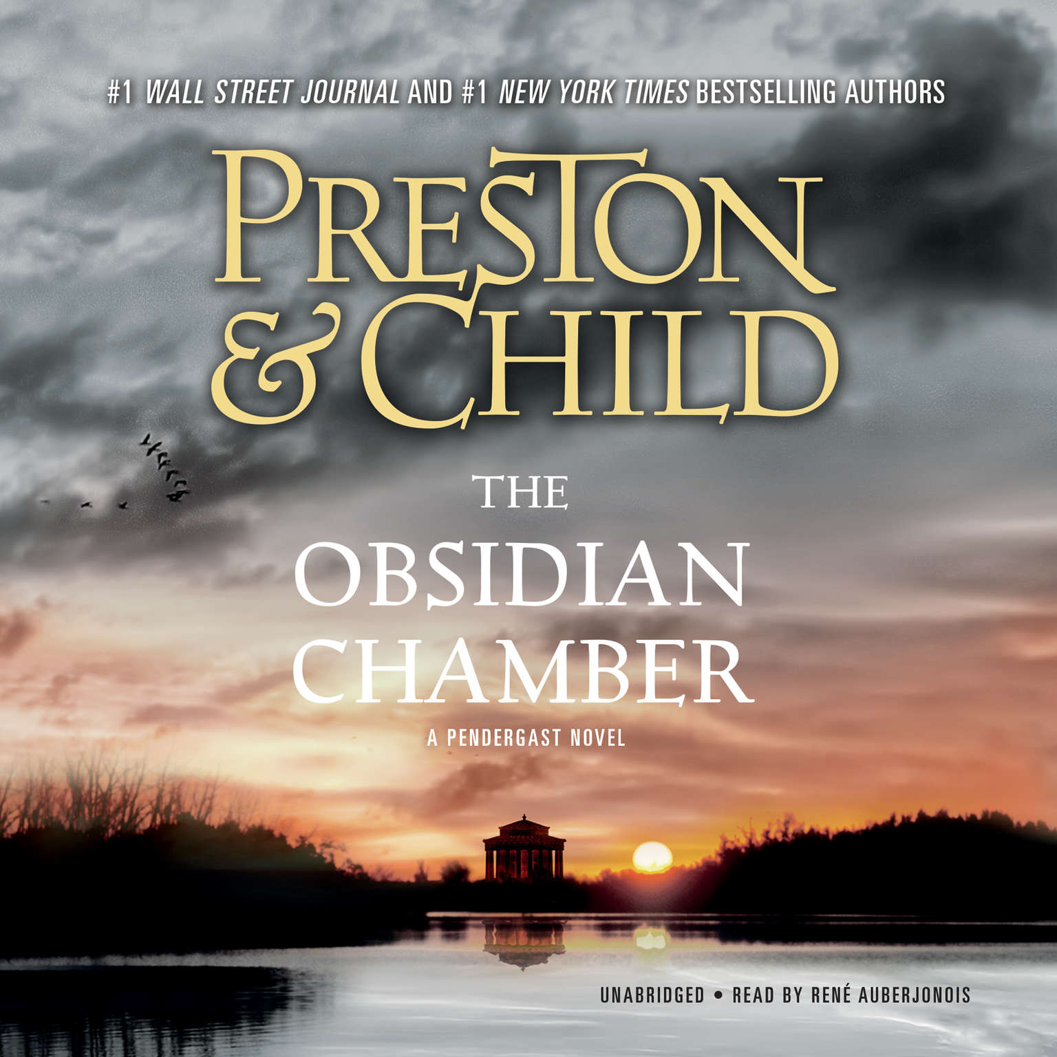 Printable The Obsidian Chamber Audiobook Cover Art