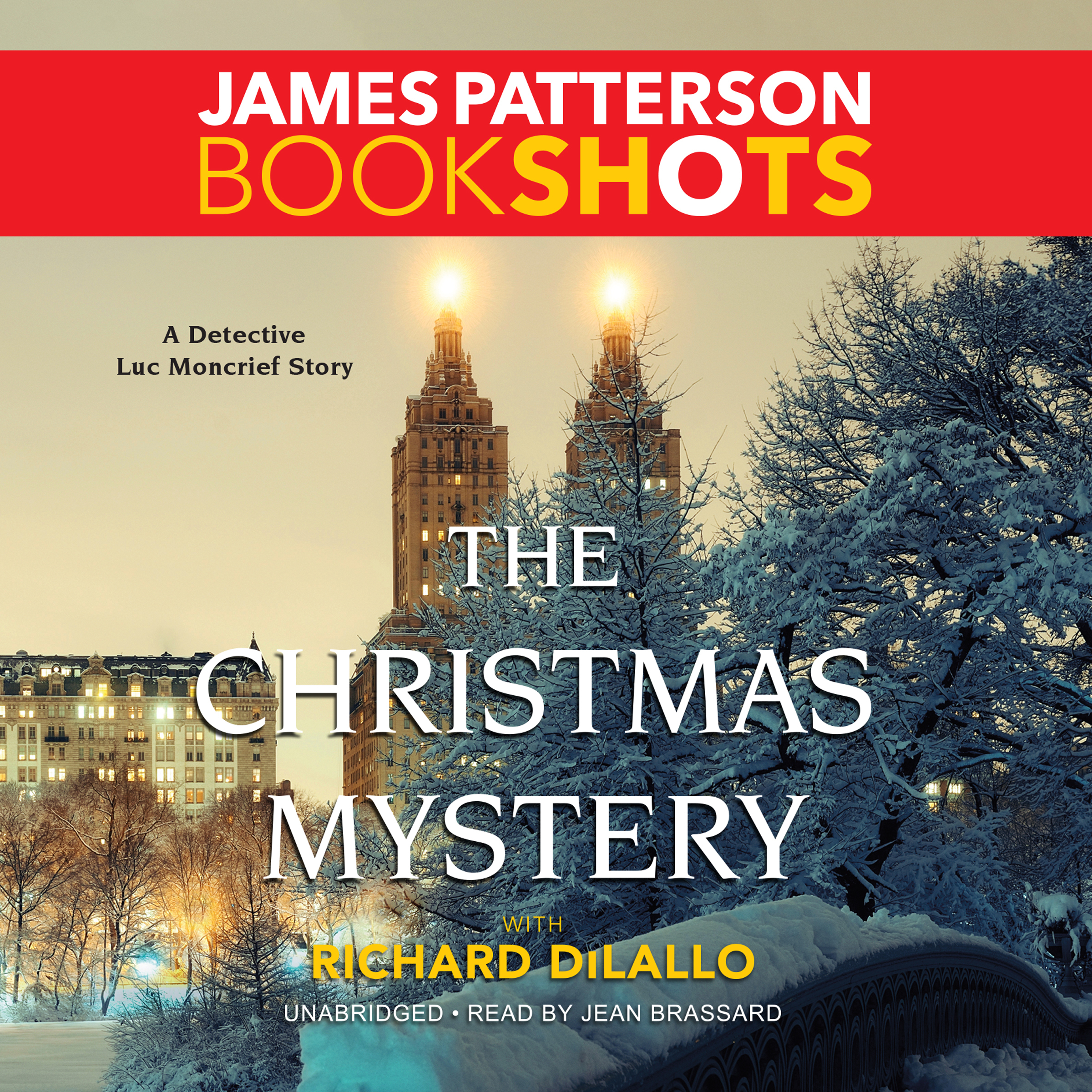 Printable The Christmas Mystery: A Detective Luc Moncrief Mystery Audiobook Cover Art