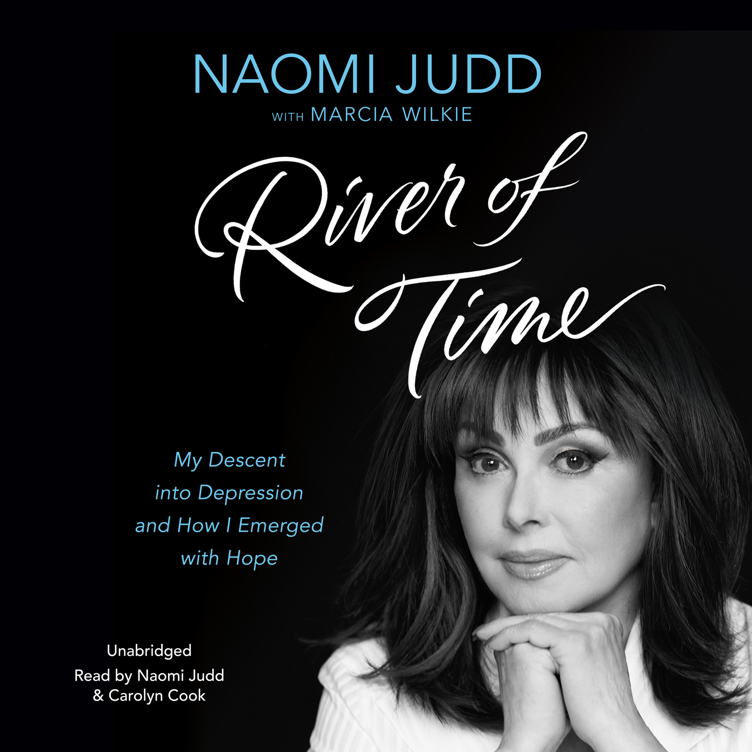 Printable River of Time: My Descent into Depression and How I Emerged with Hope Audiobook Cover Art