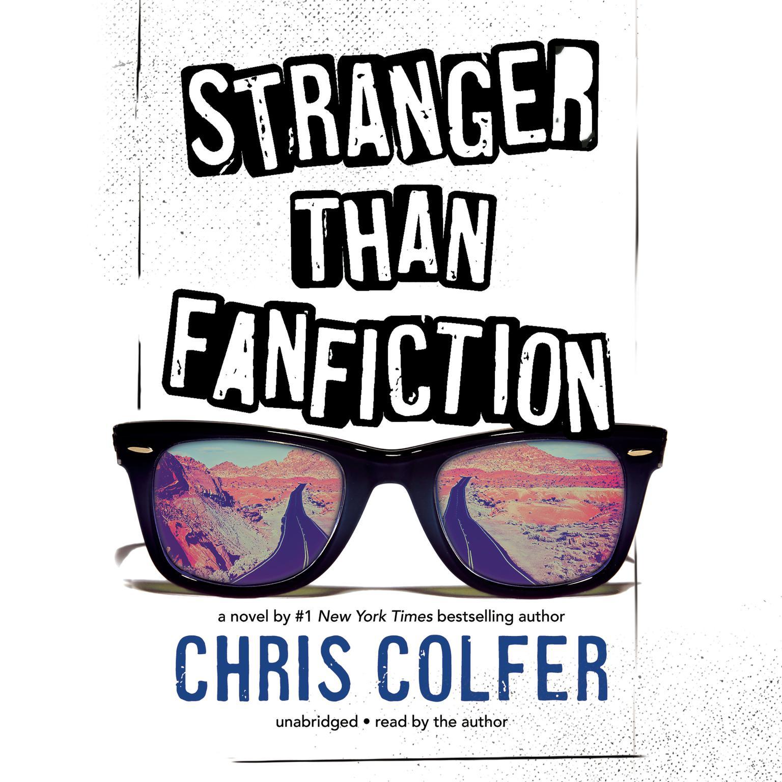 Printable Stranger Than Fanfiction Audiobook Cover Art