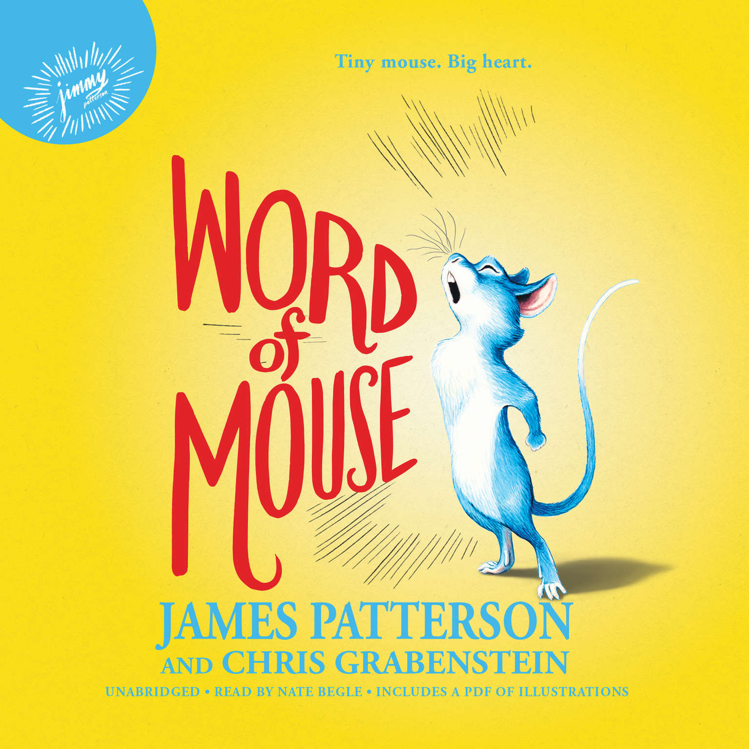 Printable Word of Mouse Audiobook Cover Art
