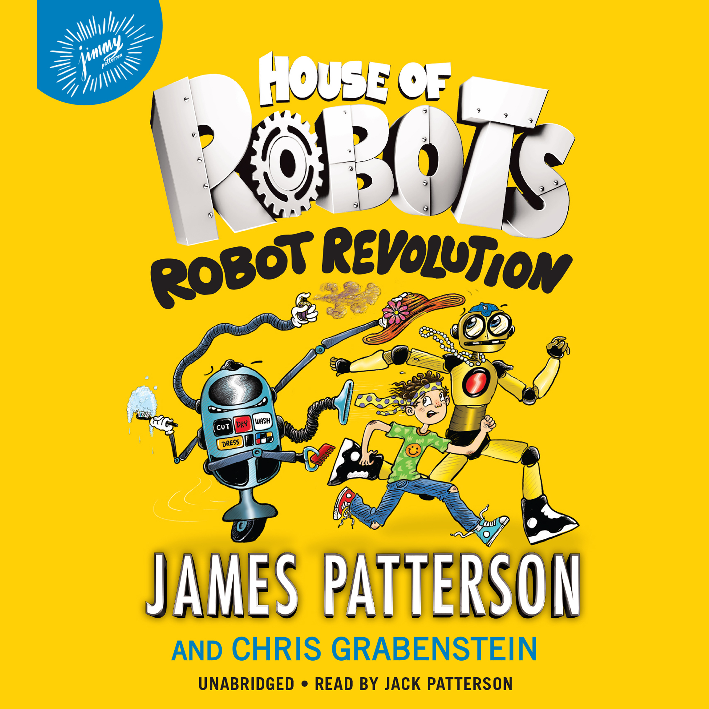 Printable House of Robots: Robot Revolution Audiobook Cover Art