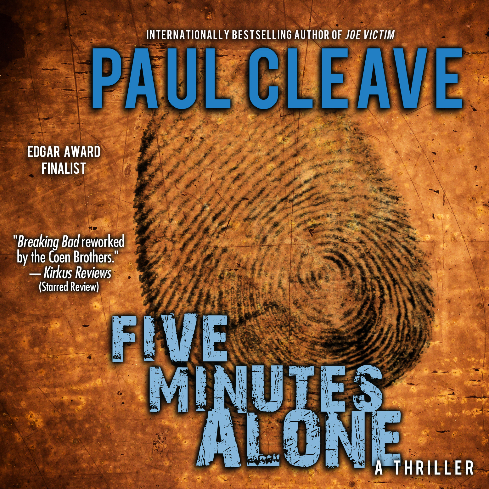Printable Five Minutes Alone: A Thriller Audiobook Cover Art