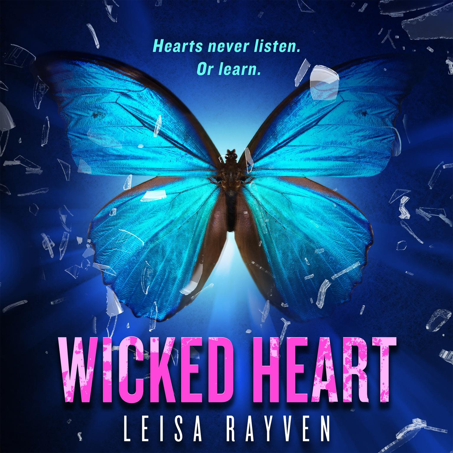Printable Wicked Heart Audiobook Cover Art