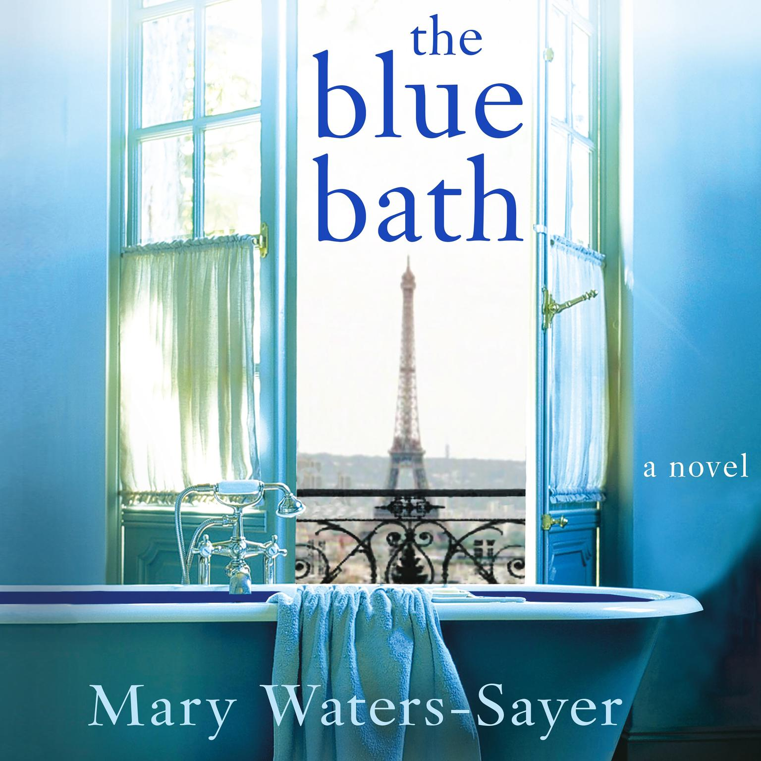 Printable The Blue Bath: A Novel Audiobook Cover Art