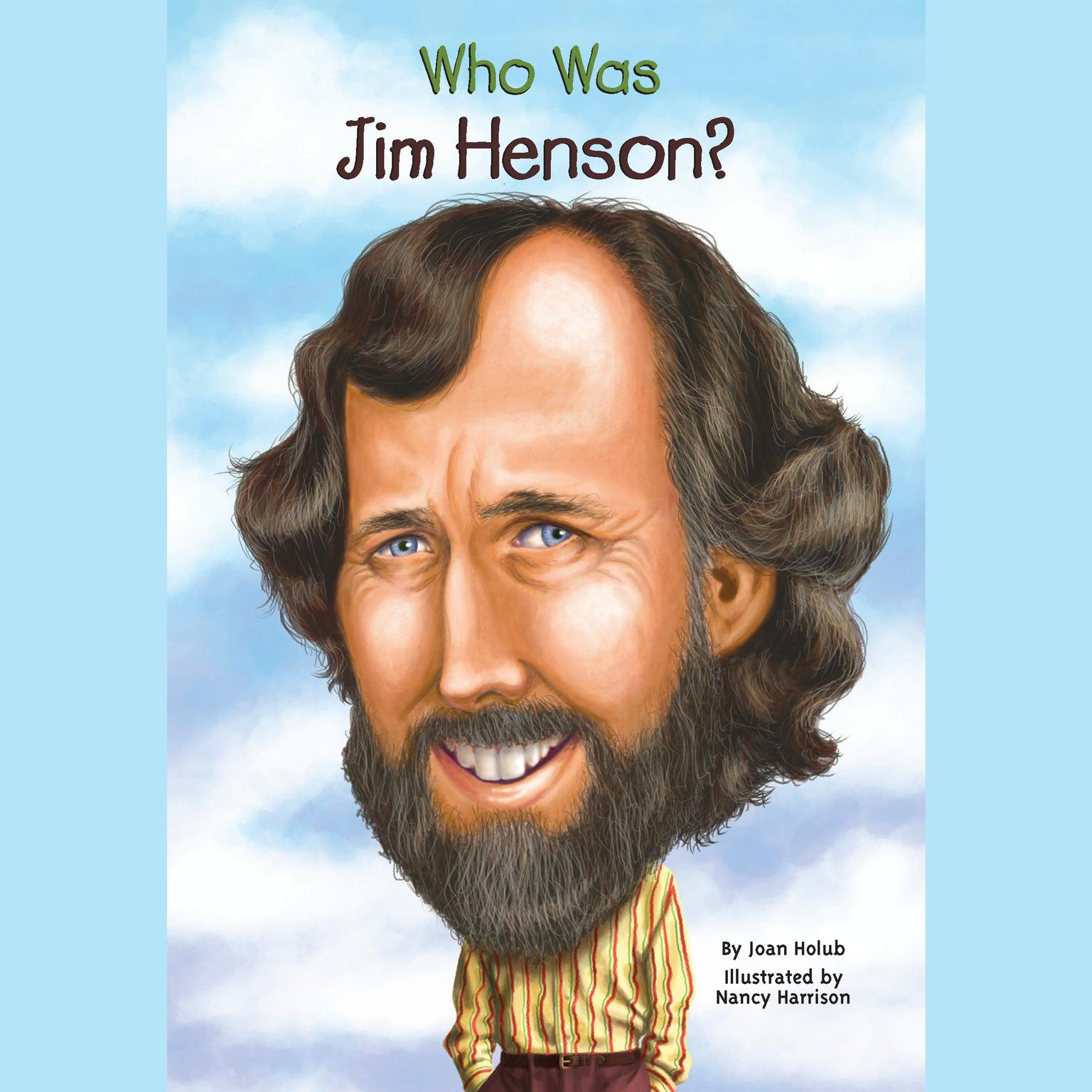 Printable Who Was Jim Henson? Audiobook Cover Art