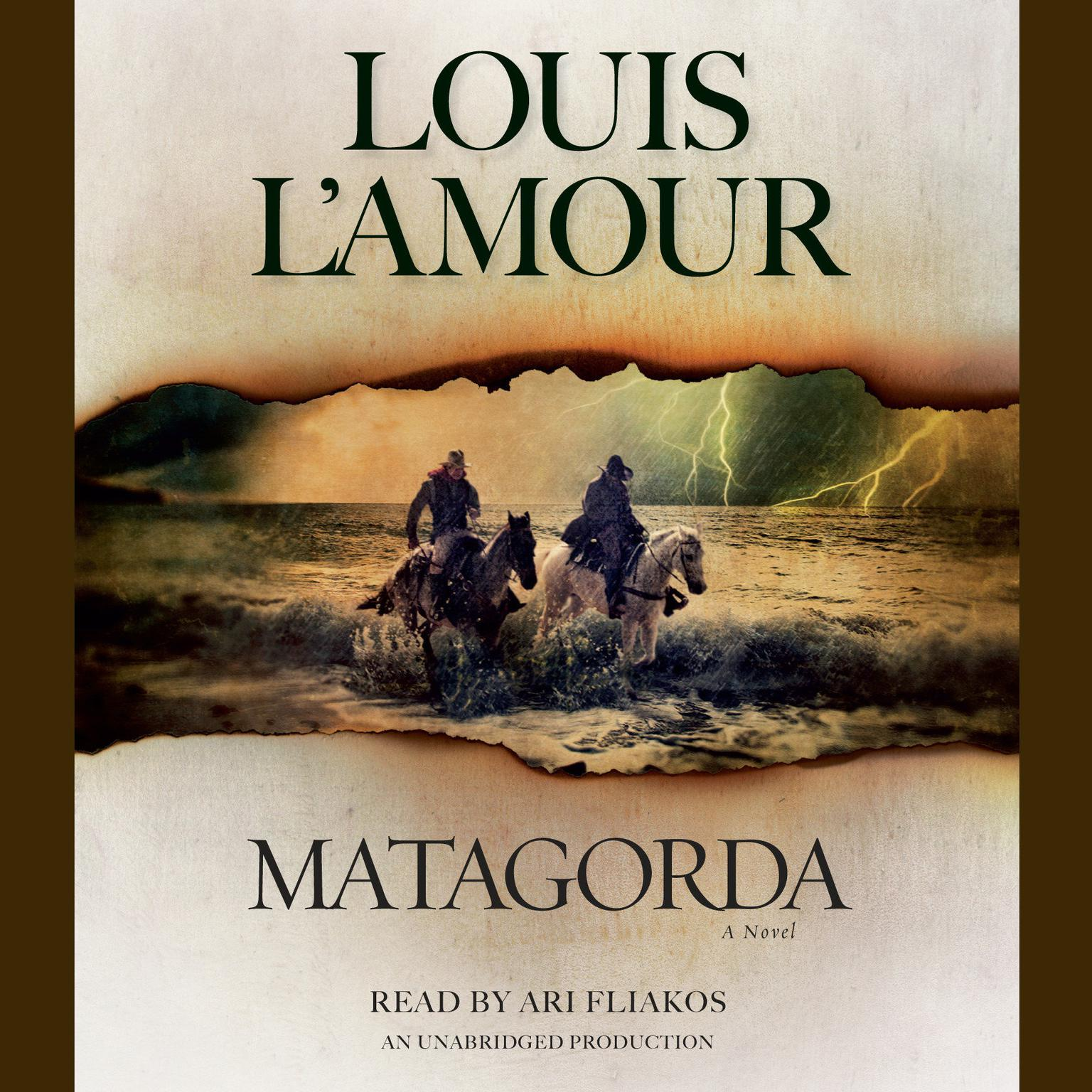 Printable Matagorda: A Novel Audiobook Cover Art