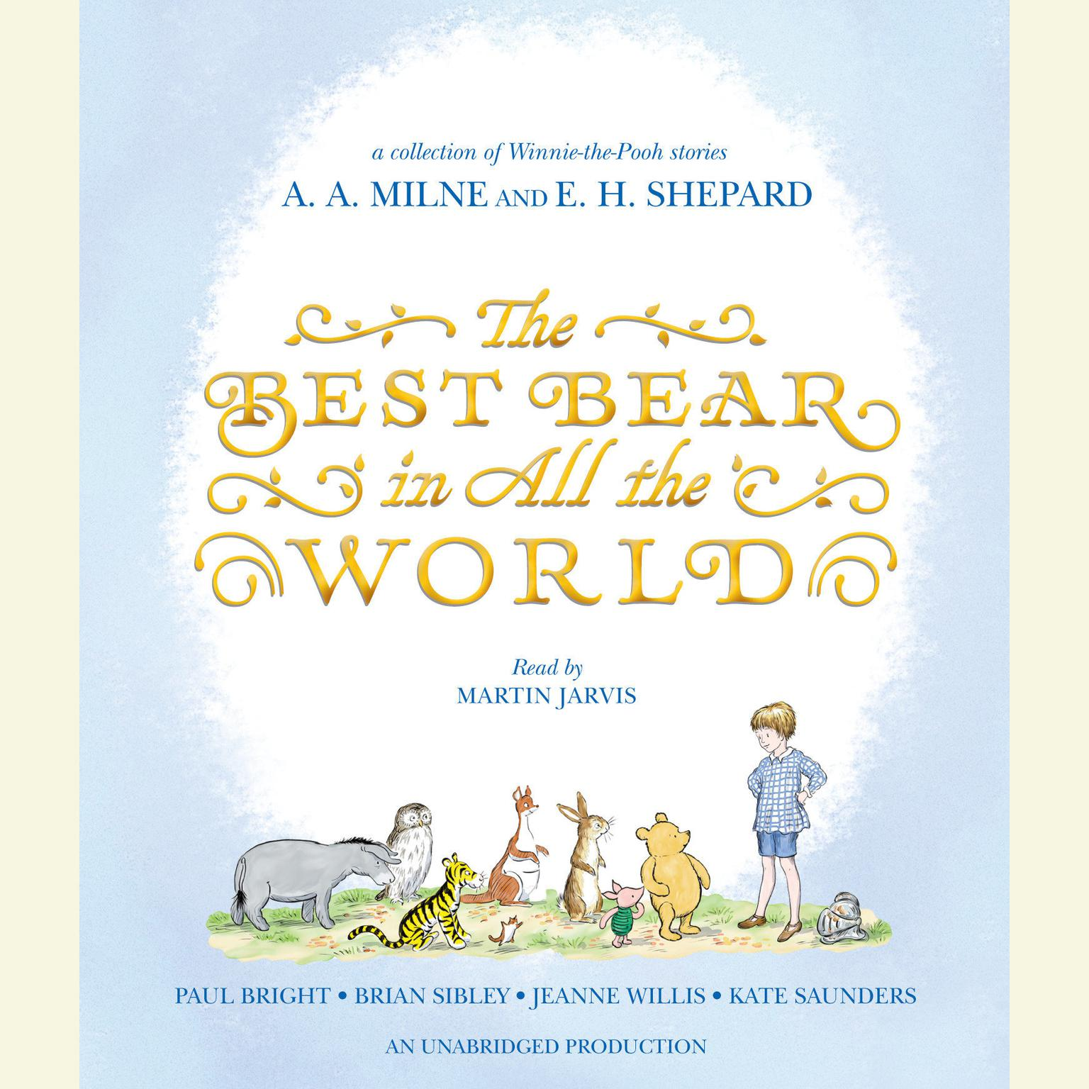 Printable The Best Bear in All the World Audiobook Cover Art