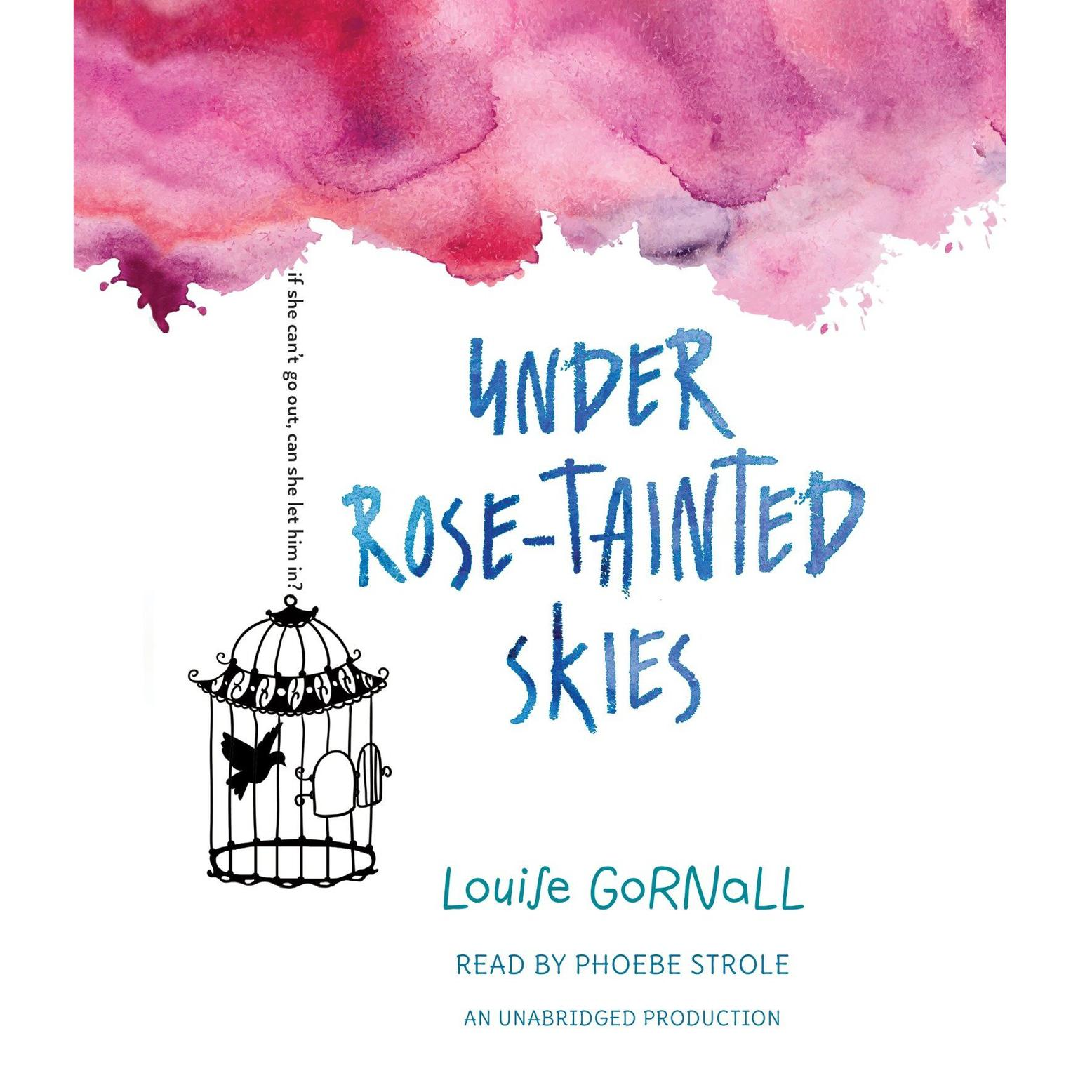 Printable Under Rose-Tainted Skies Audiobook Cover Art