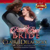 The Rose Red Bride Audiobook, by Claire  Delacroix