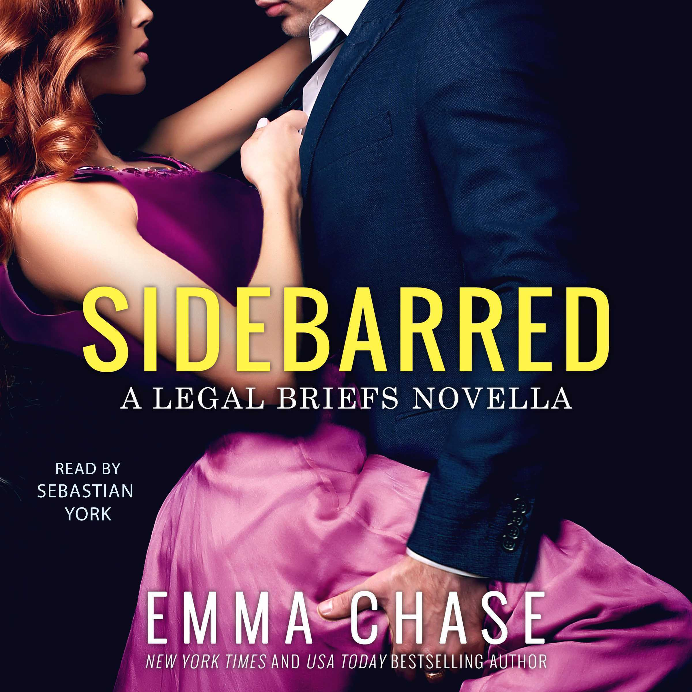 Printable Sidebarred: A Legal Briefs Novella Audiobook Cover Art