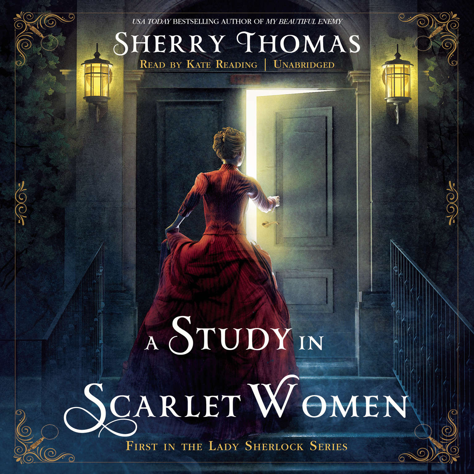 Printable A Study in Scarlet Women Audiobook Cover Art