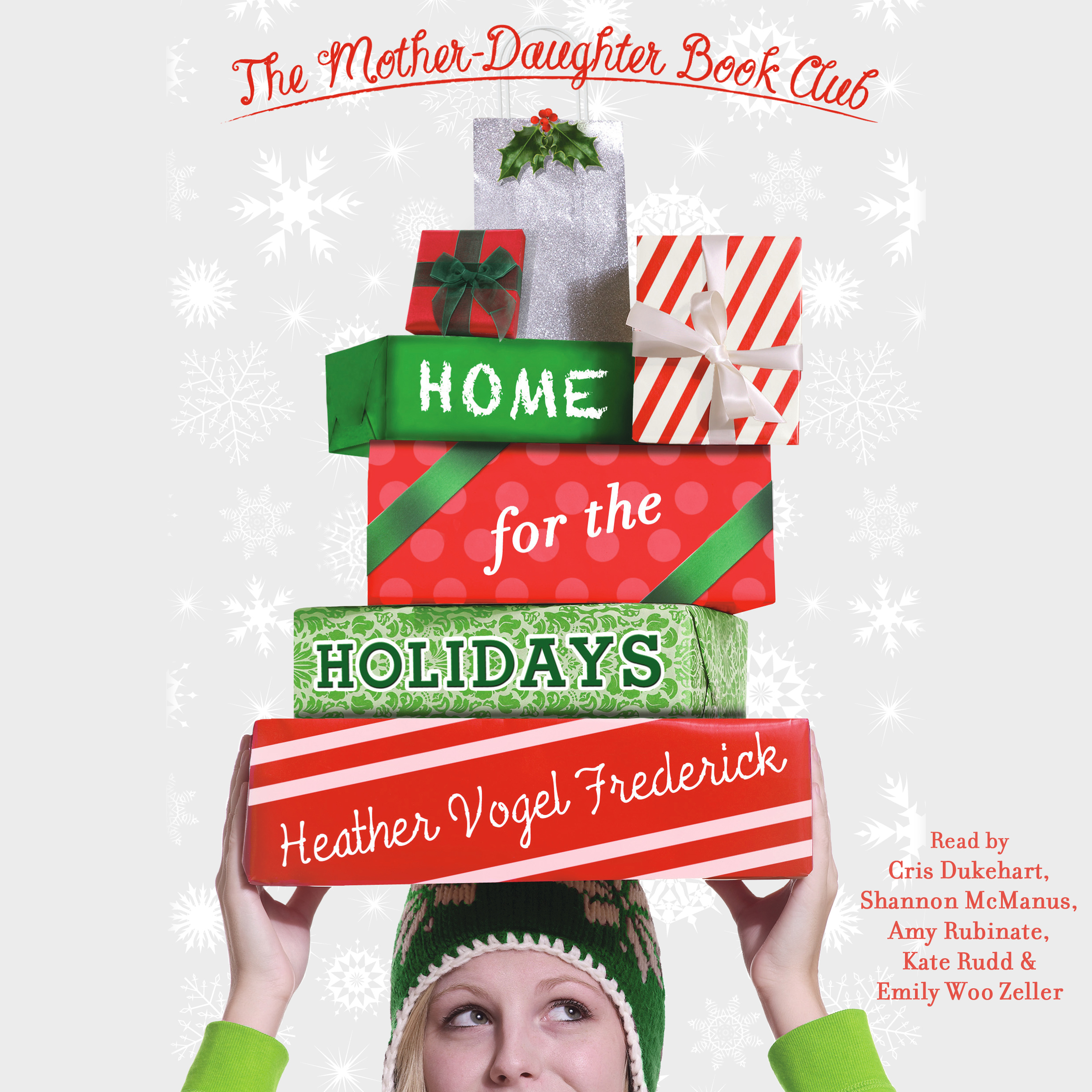 Printable Home for the Holidays Audiobook Cover Art