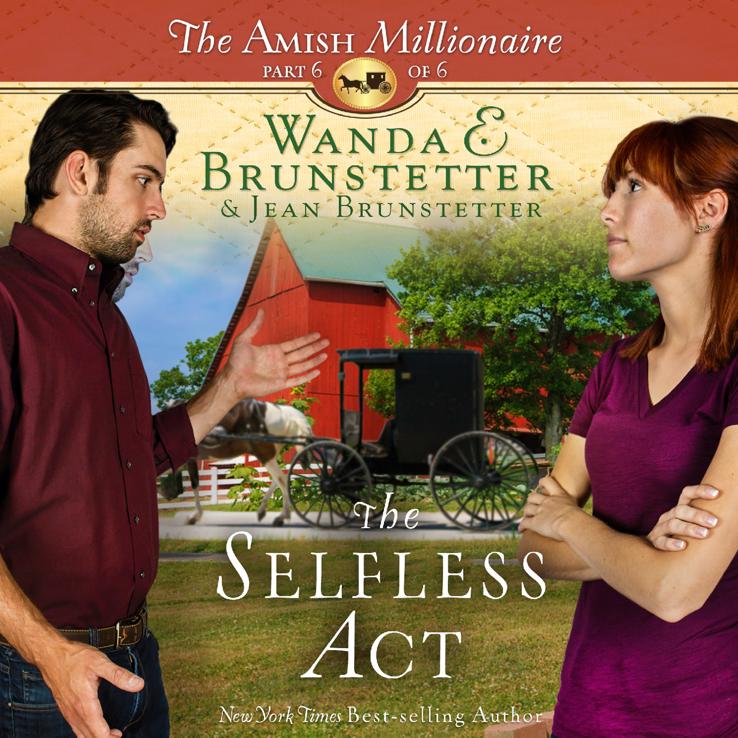 Printable The Selfless Act Audiobook Cover Art