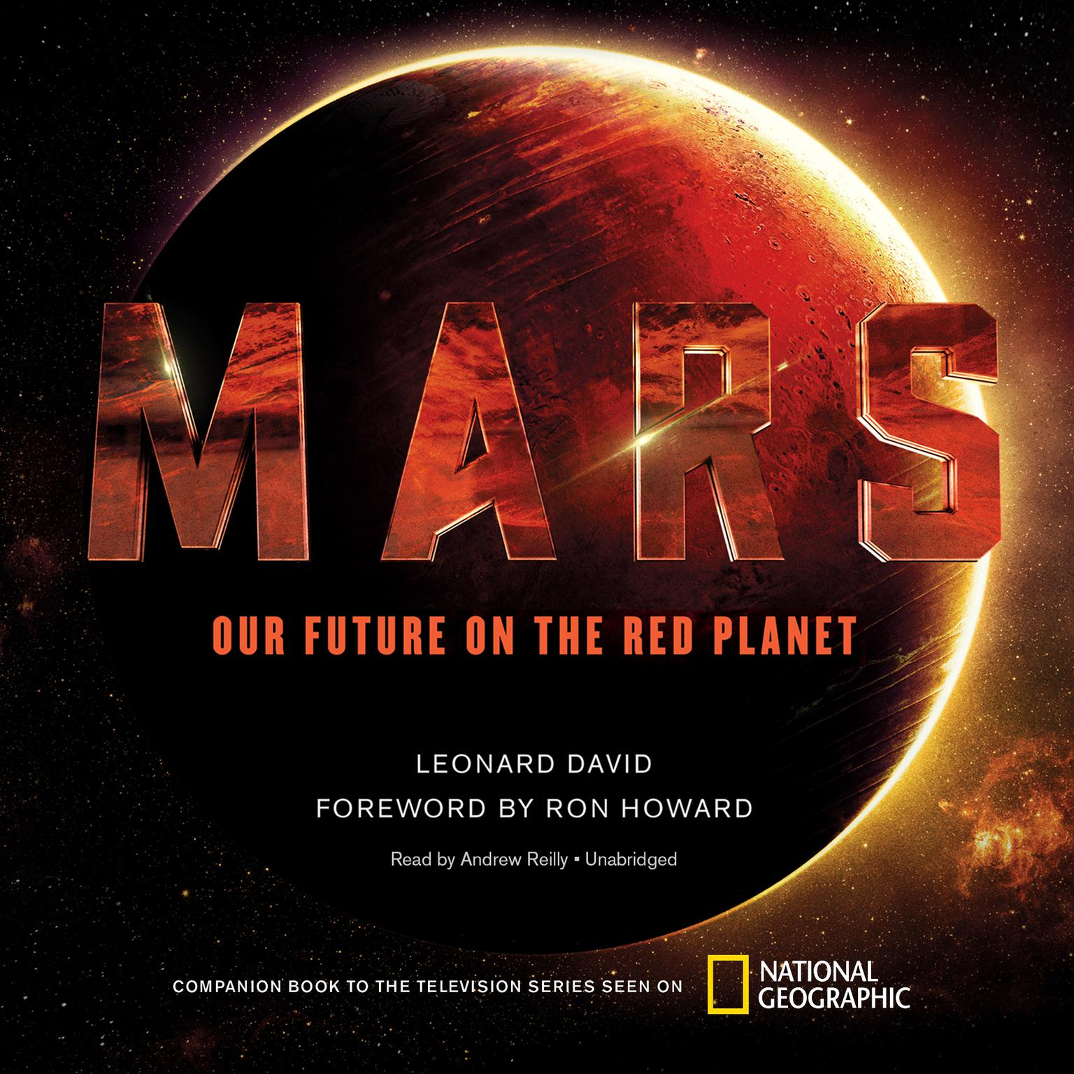 Printable Mars: Our Future on the Red Planet Audiobook Cover Art