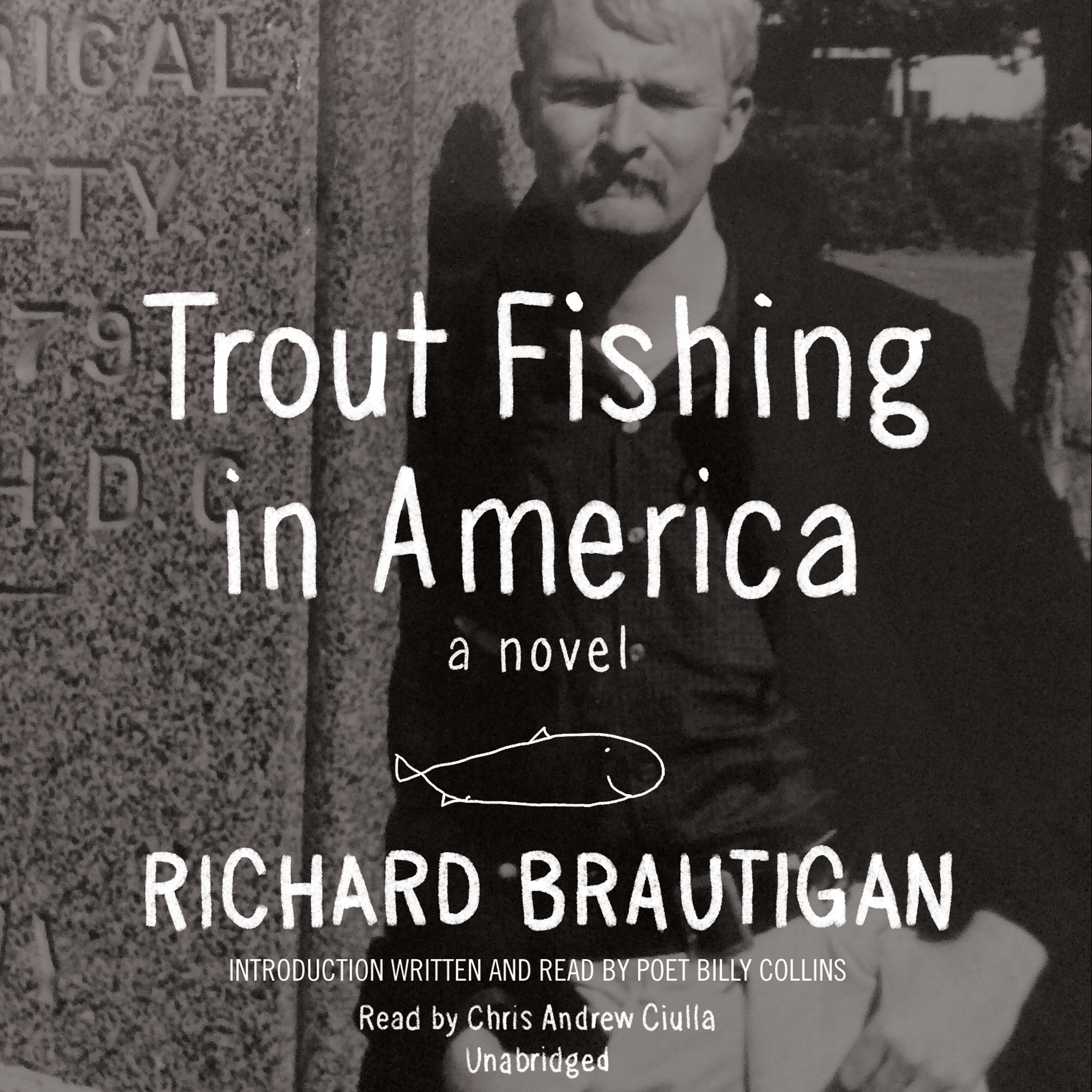 Printable Trout Fishing in America: A Novel Audiobook Cover Art