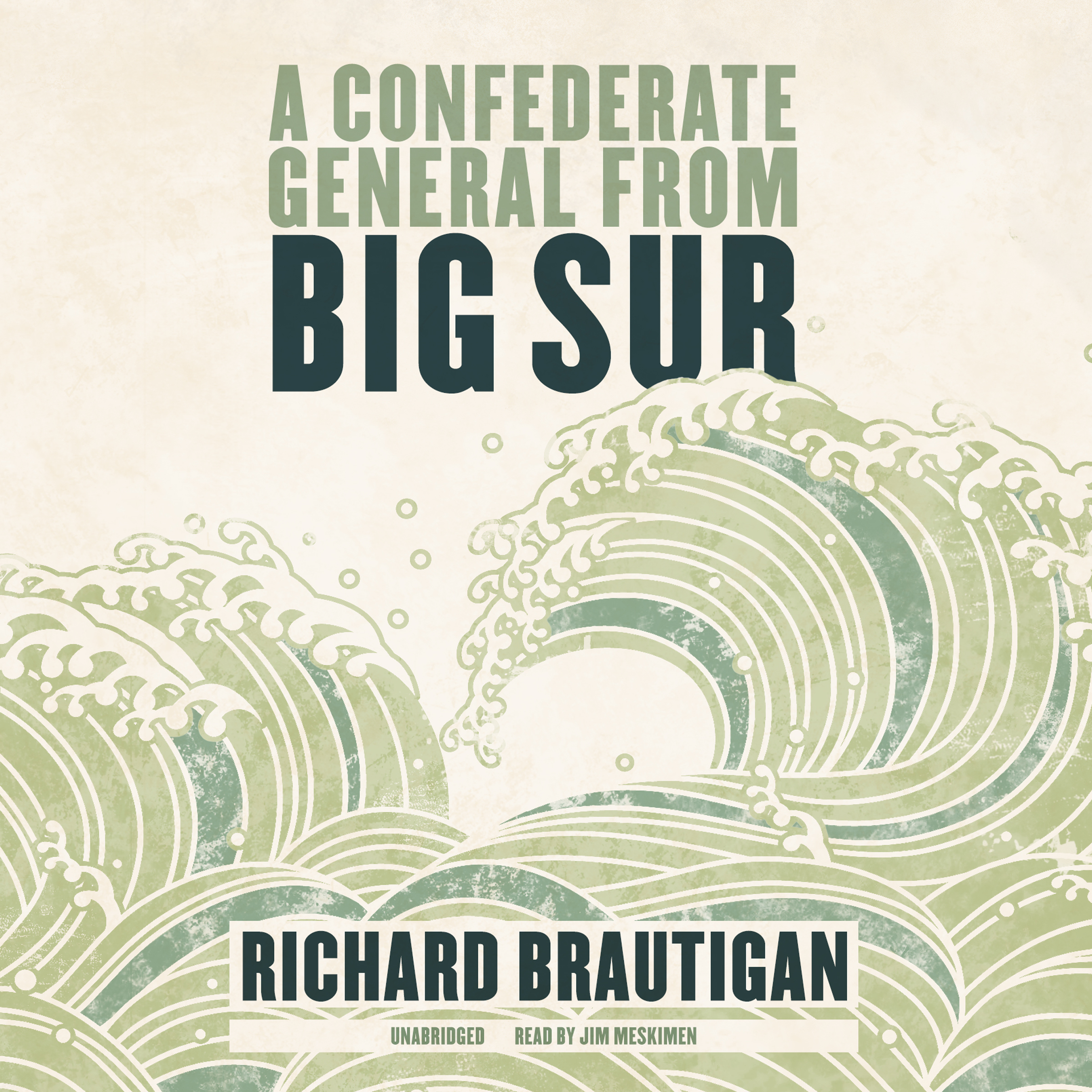 Printable A Confederate General From Big Sur Audiobook Cover Art