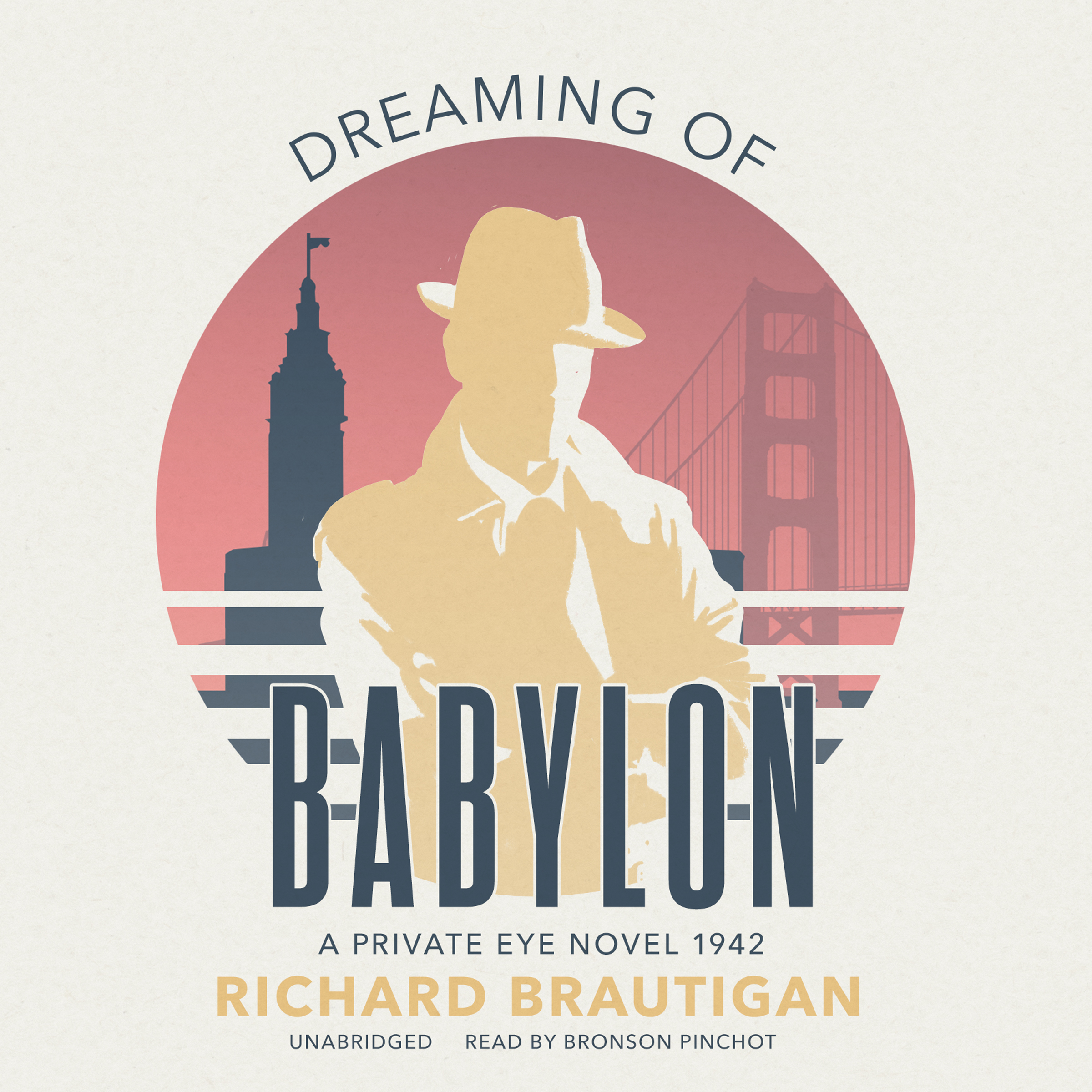 Printable Dreaming of Babylon: A Private Eye Novel 1942 Audiobook Cover Art