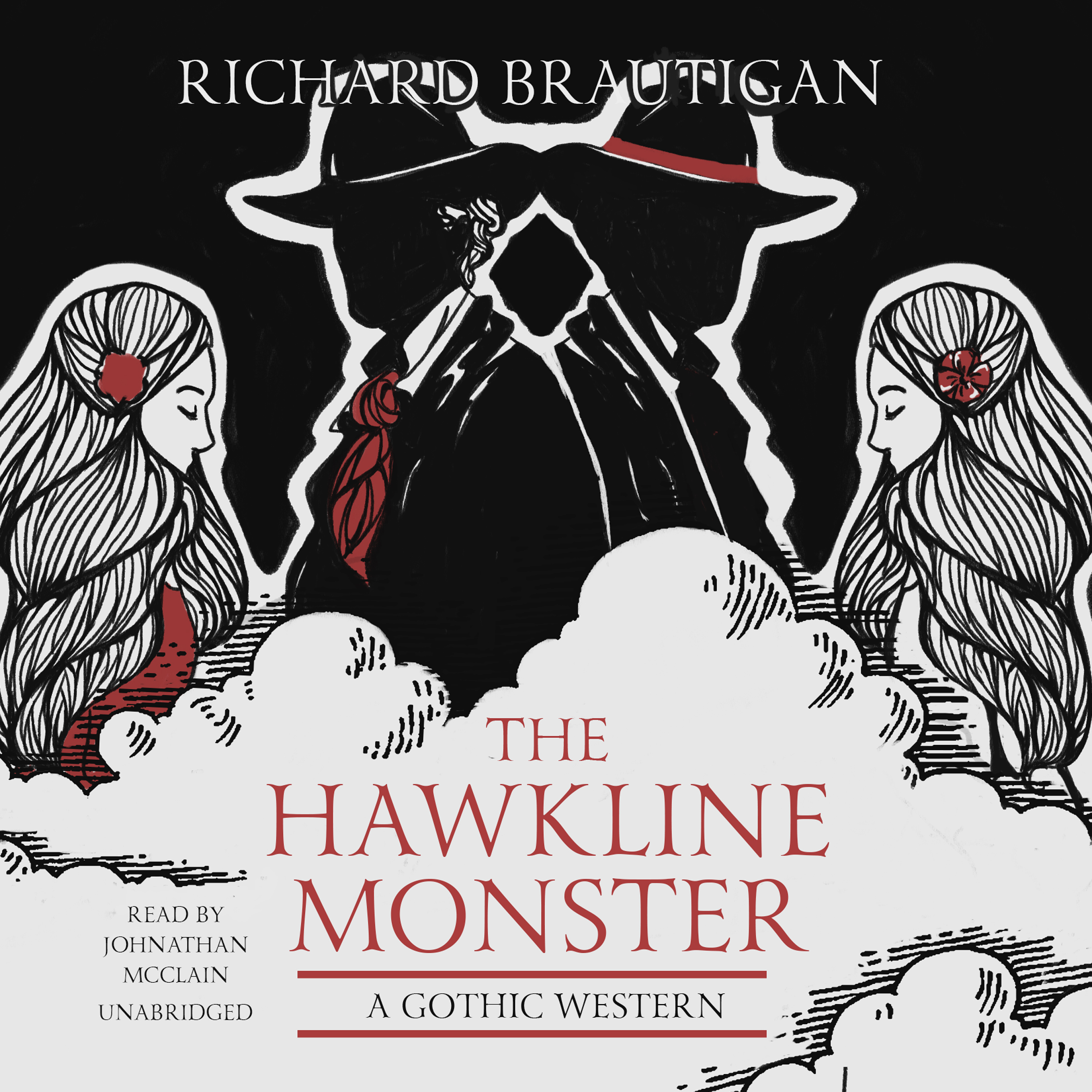 Printable The Hawkline Monster: A Gothic Western Audiobook Cover Art