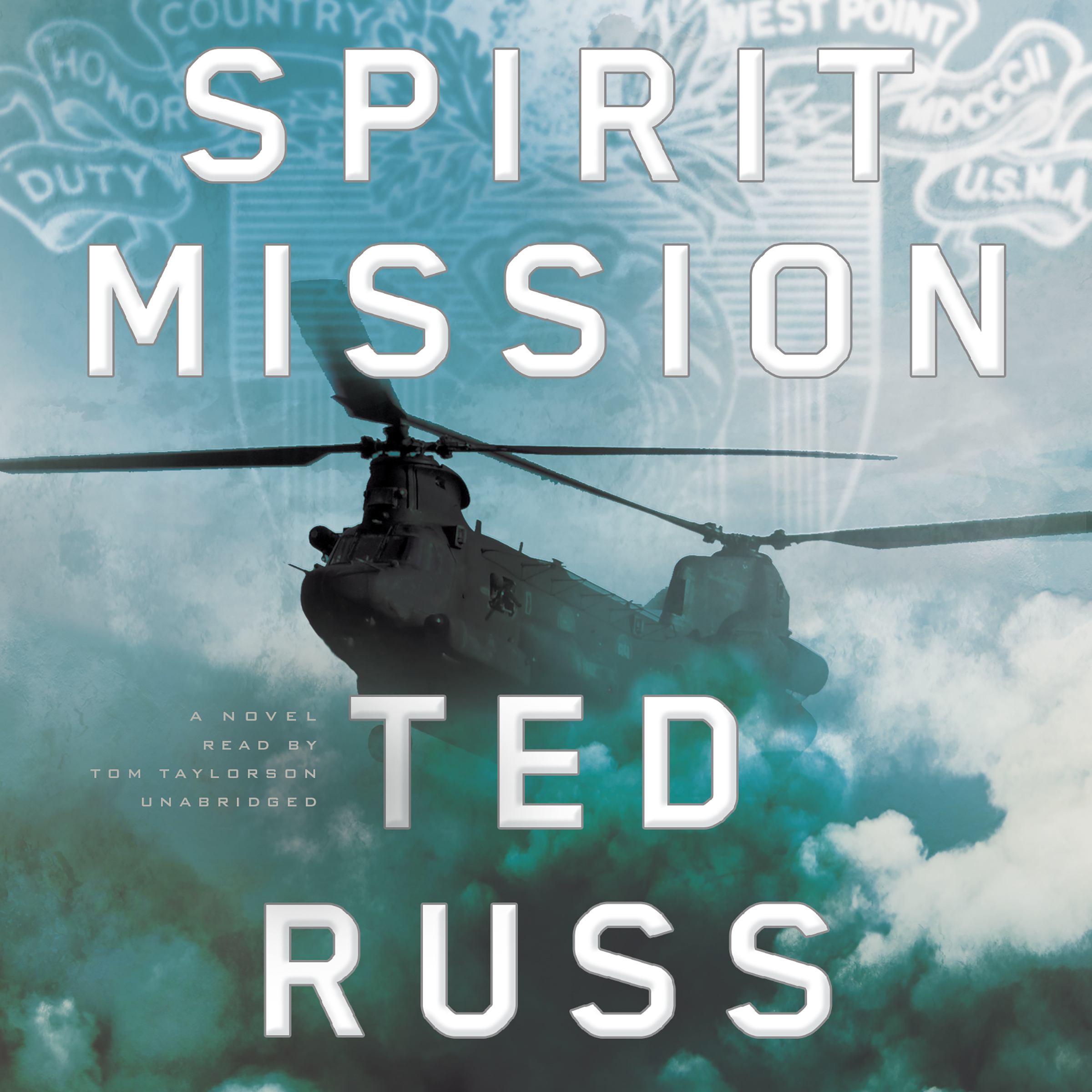 Printable Spirit Mission: A Novel Audiobook Cover Art