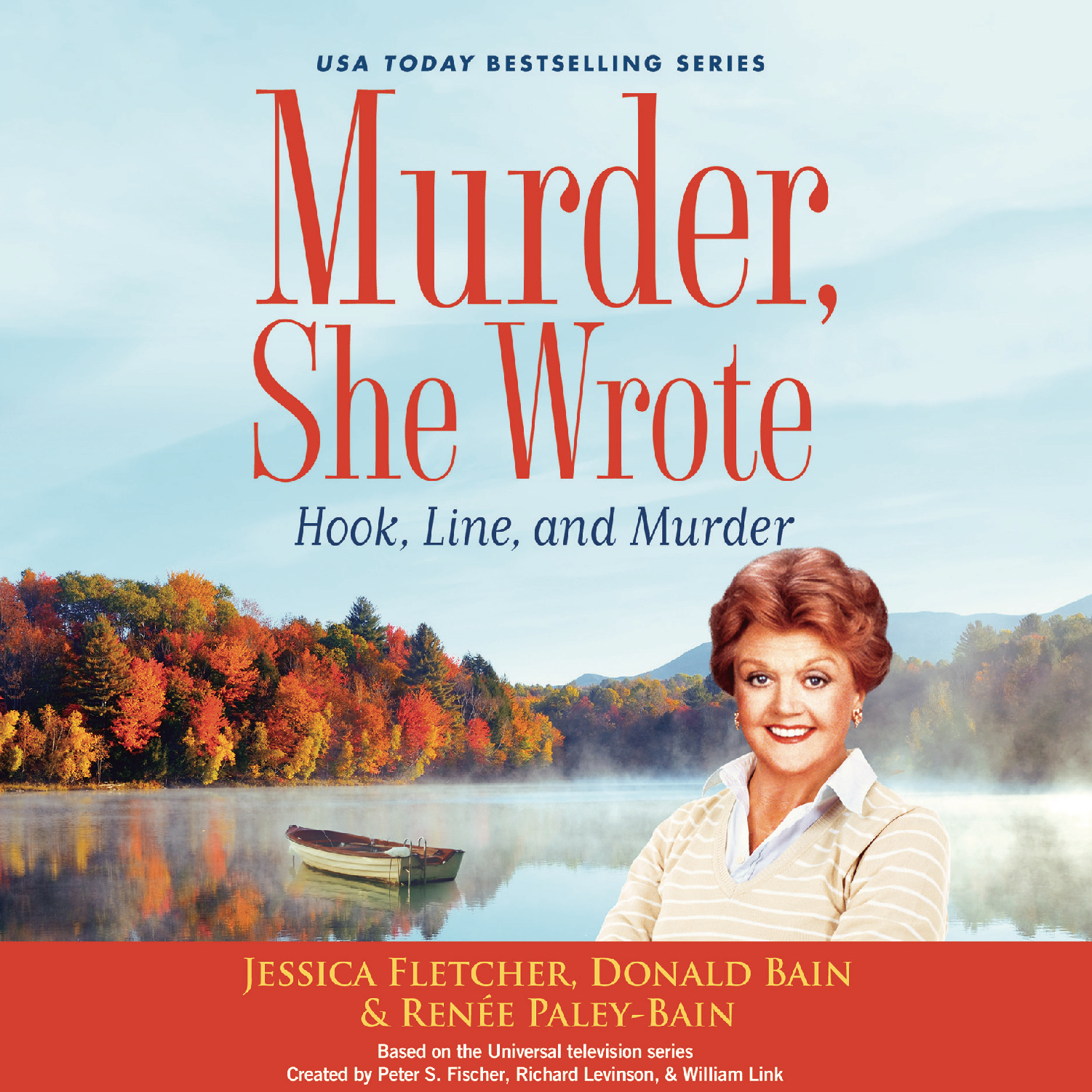Printable Murder, She Wrote: Hook, Line, and Murder Audiobook Cover Art