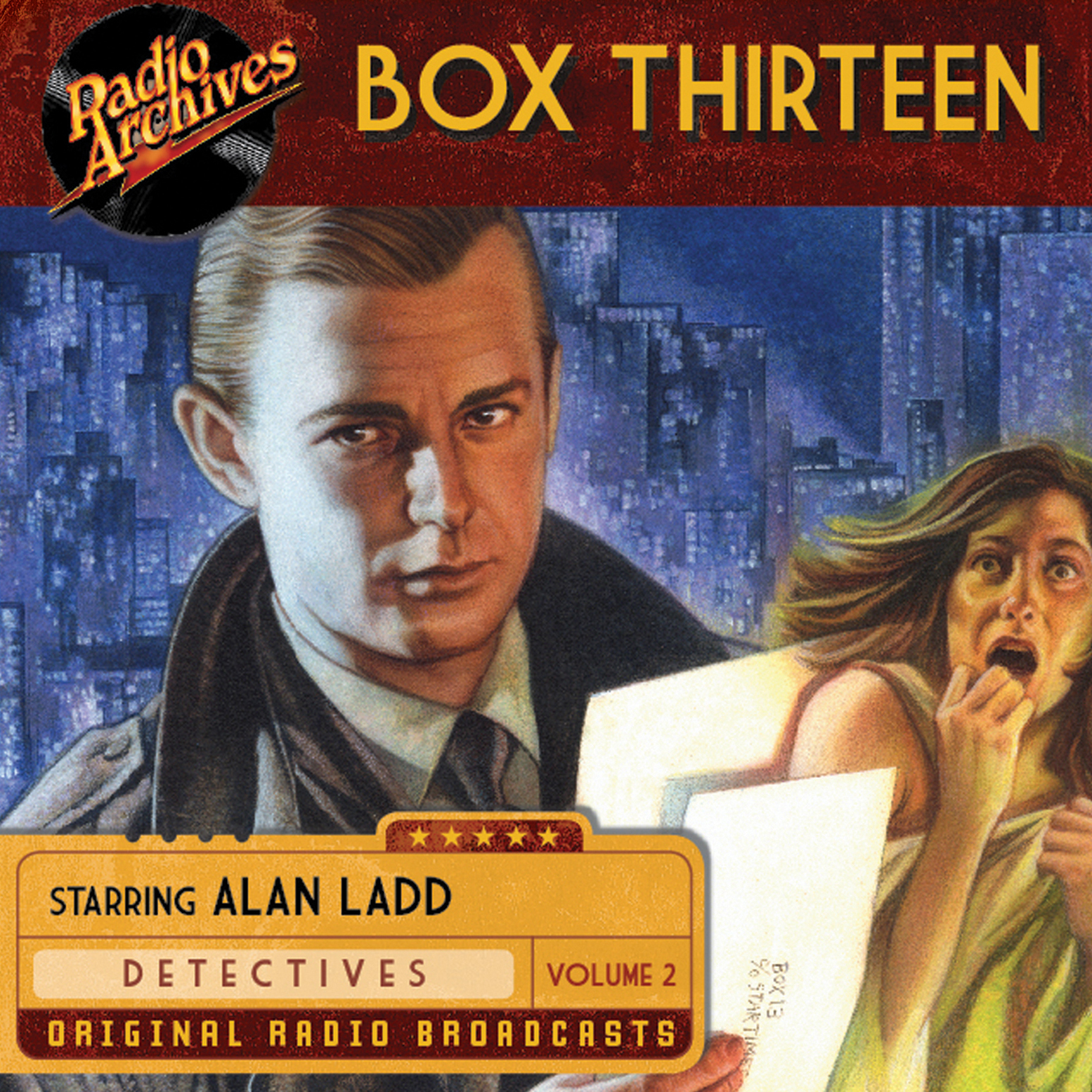 Printable Box Thirteen, Volume 2 Audiobook Cover Art