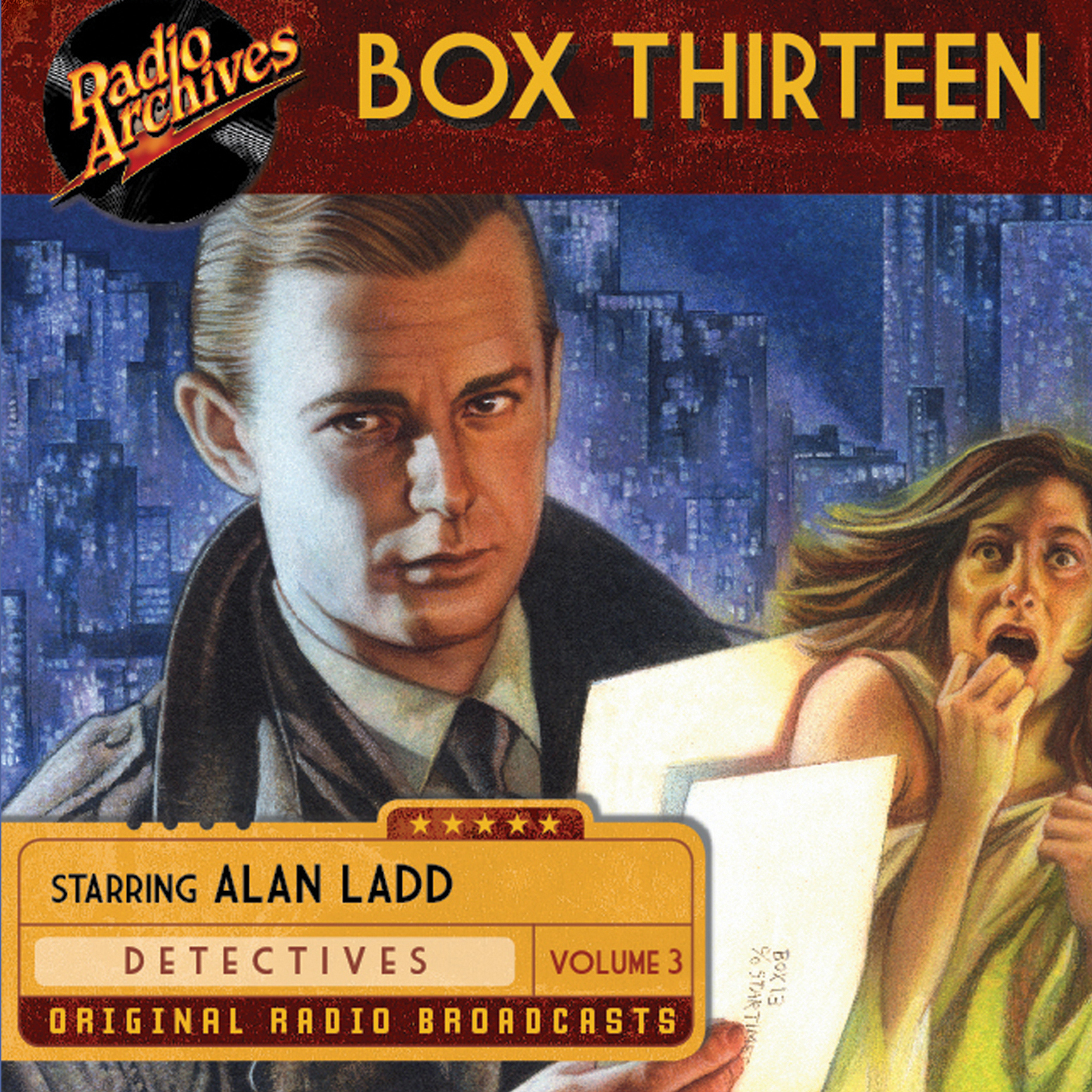 Printable Box Thirteen, Vol. 3 Audiobook Cover Art