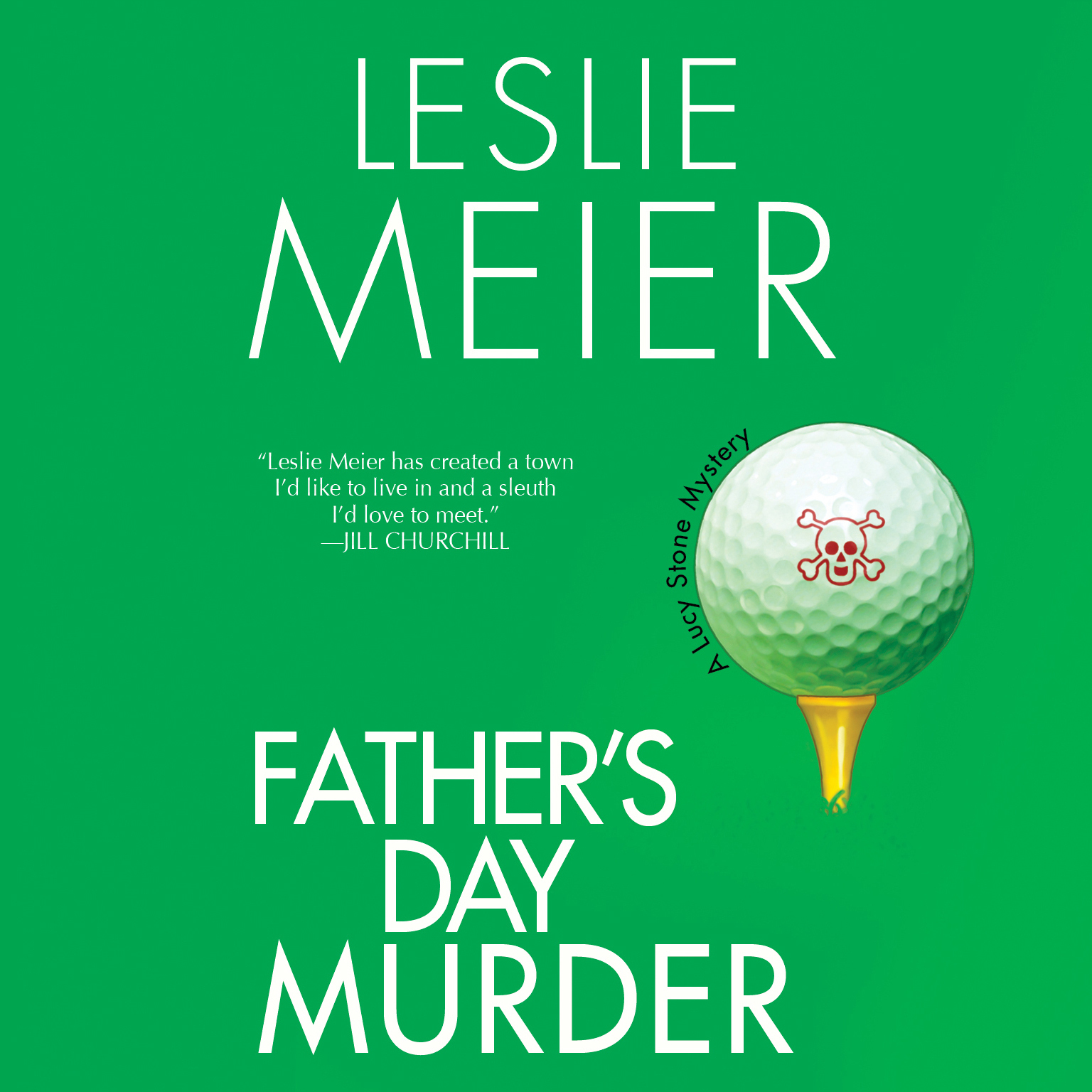 Printable Father's Day Murder: A Lucy Stone Mystery Audiobook Cover Art