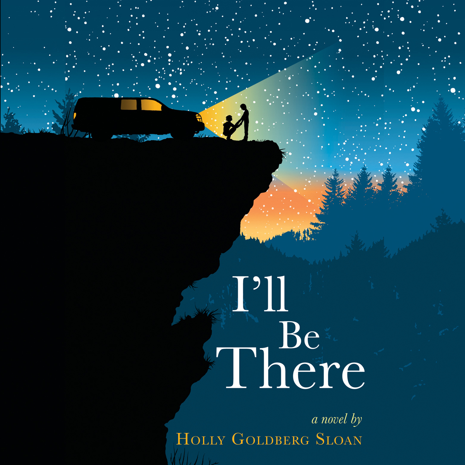 Printable I'll Be There Audiobook Cover Art