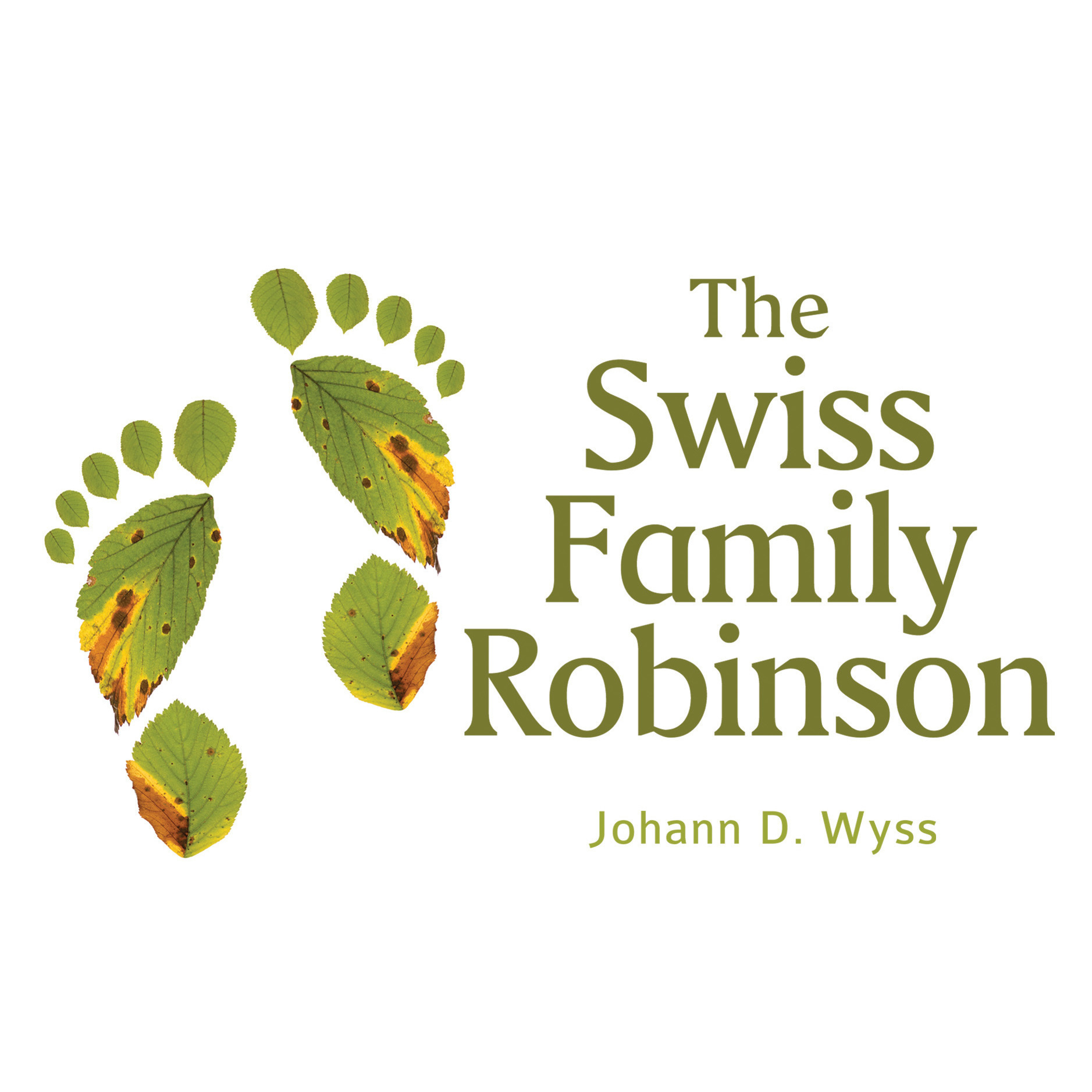 Printable The Swiss Family Robinson Audiobook Cover Art