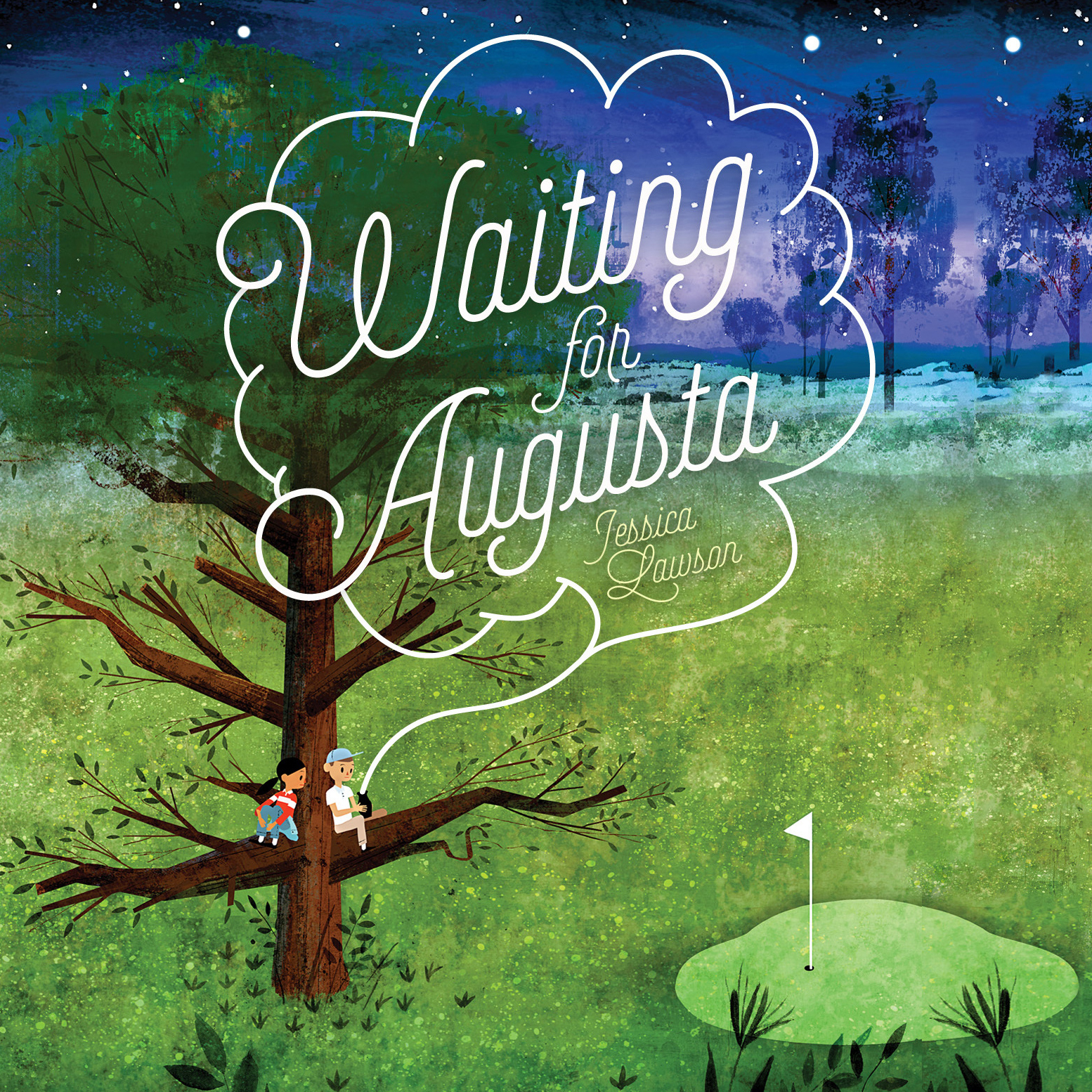 Printable Waiting for Augusta Audiobook Cover Art