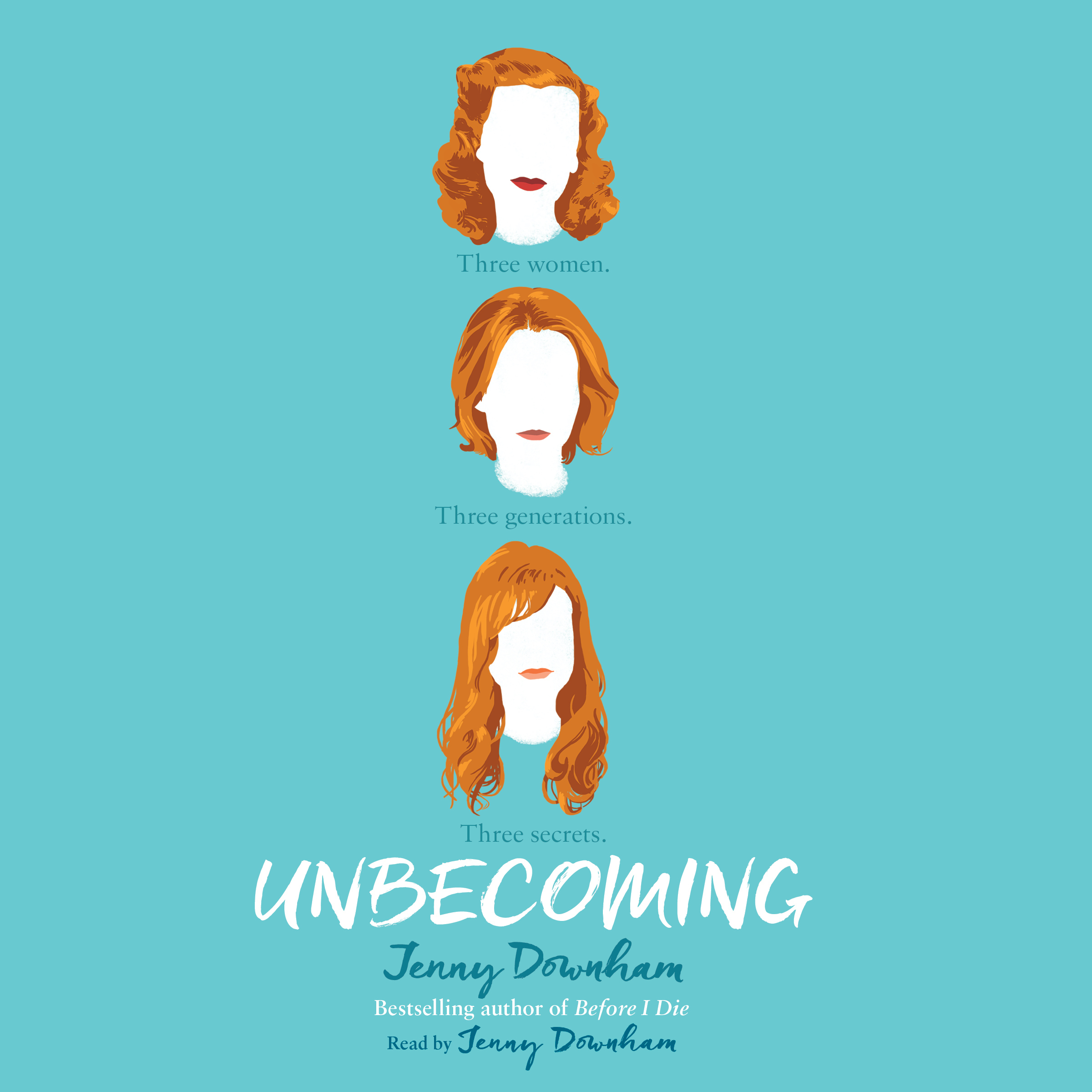 Printable Unbecoming Audiobook Cover Art