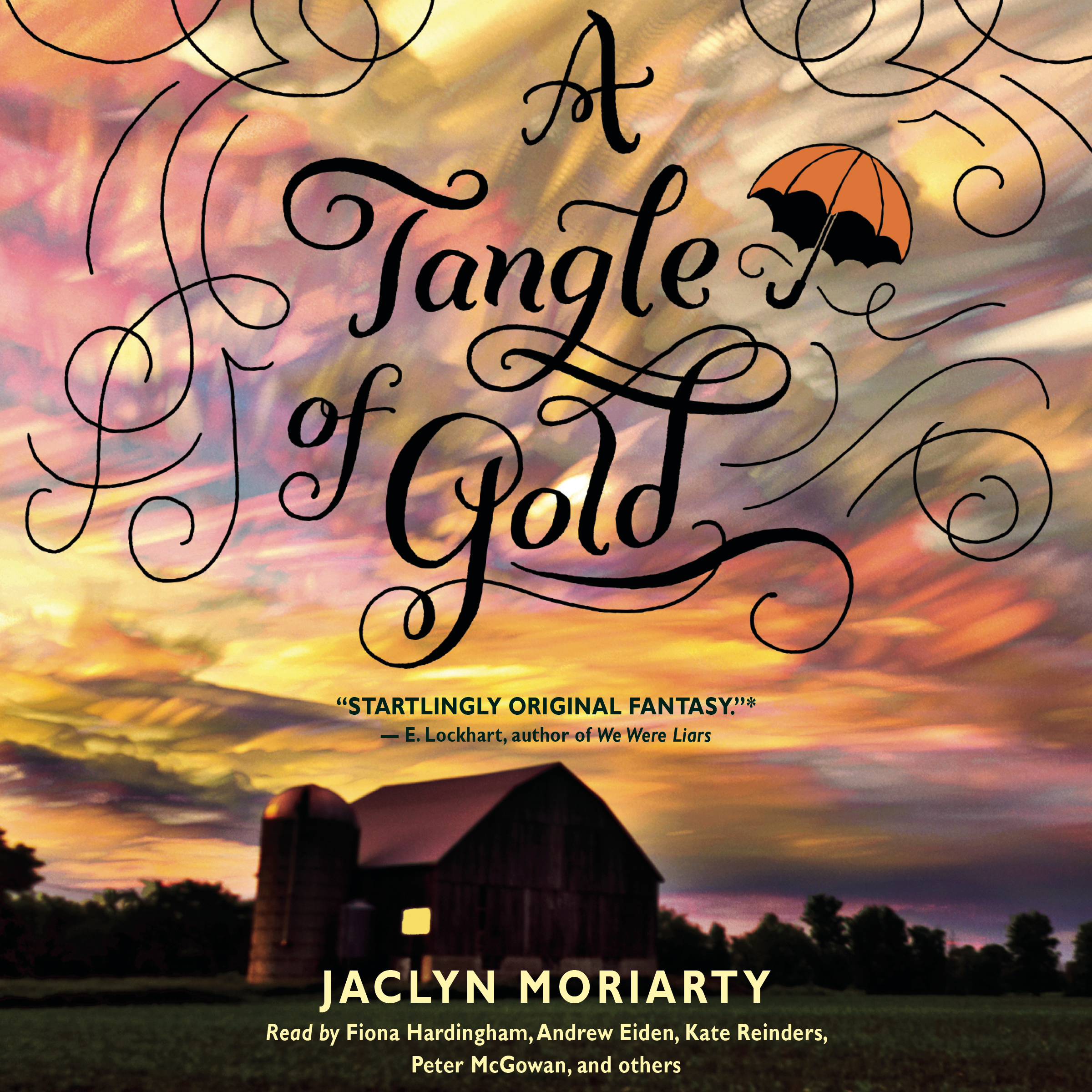 Printable A Tangle of Gold Audiobook Cover Art