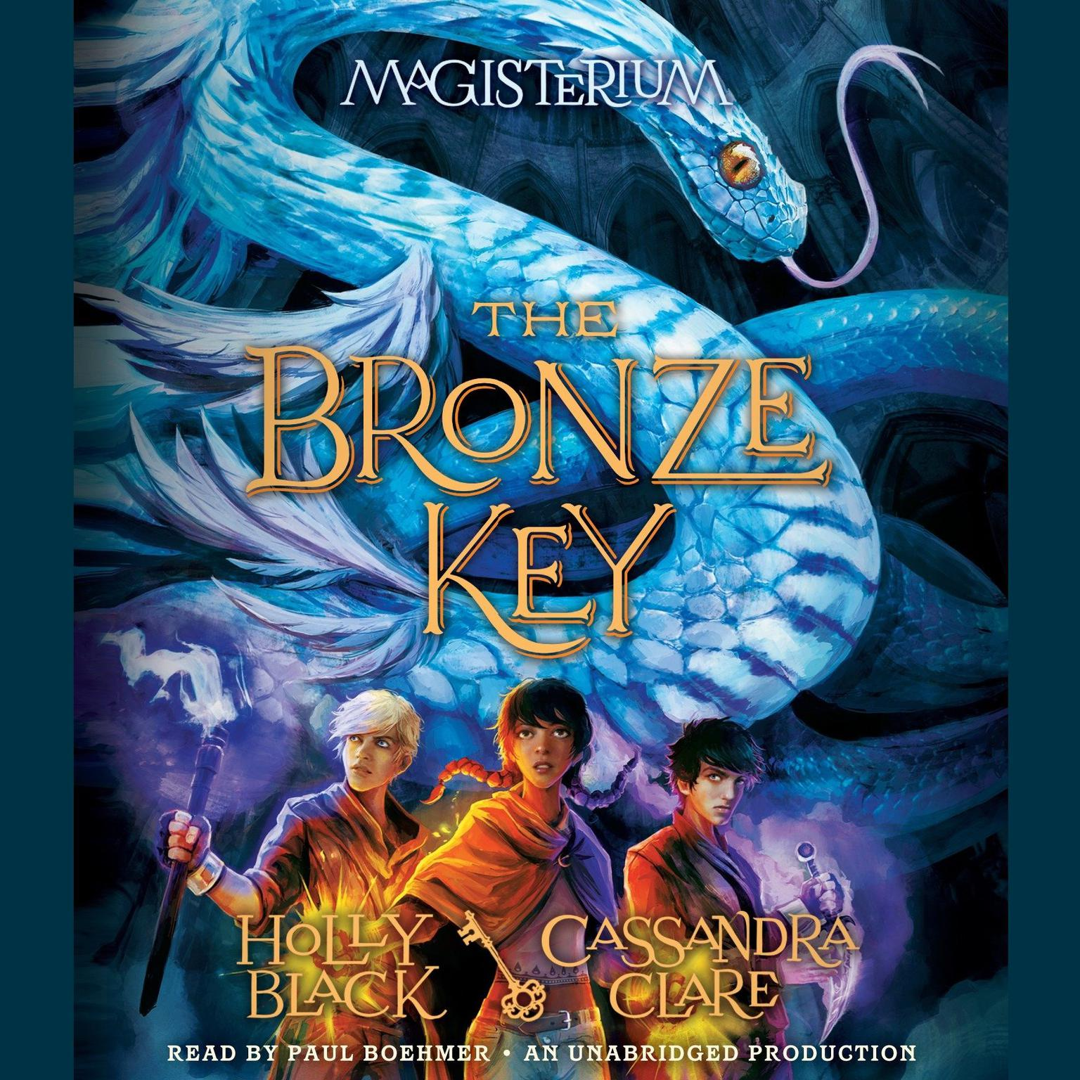 Printable The Bronze Key Audiobook Cover Art