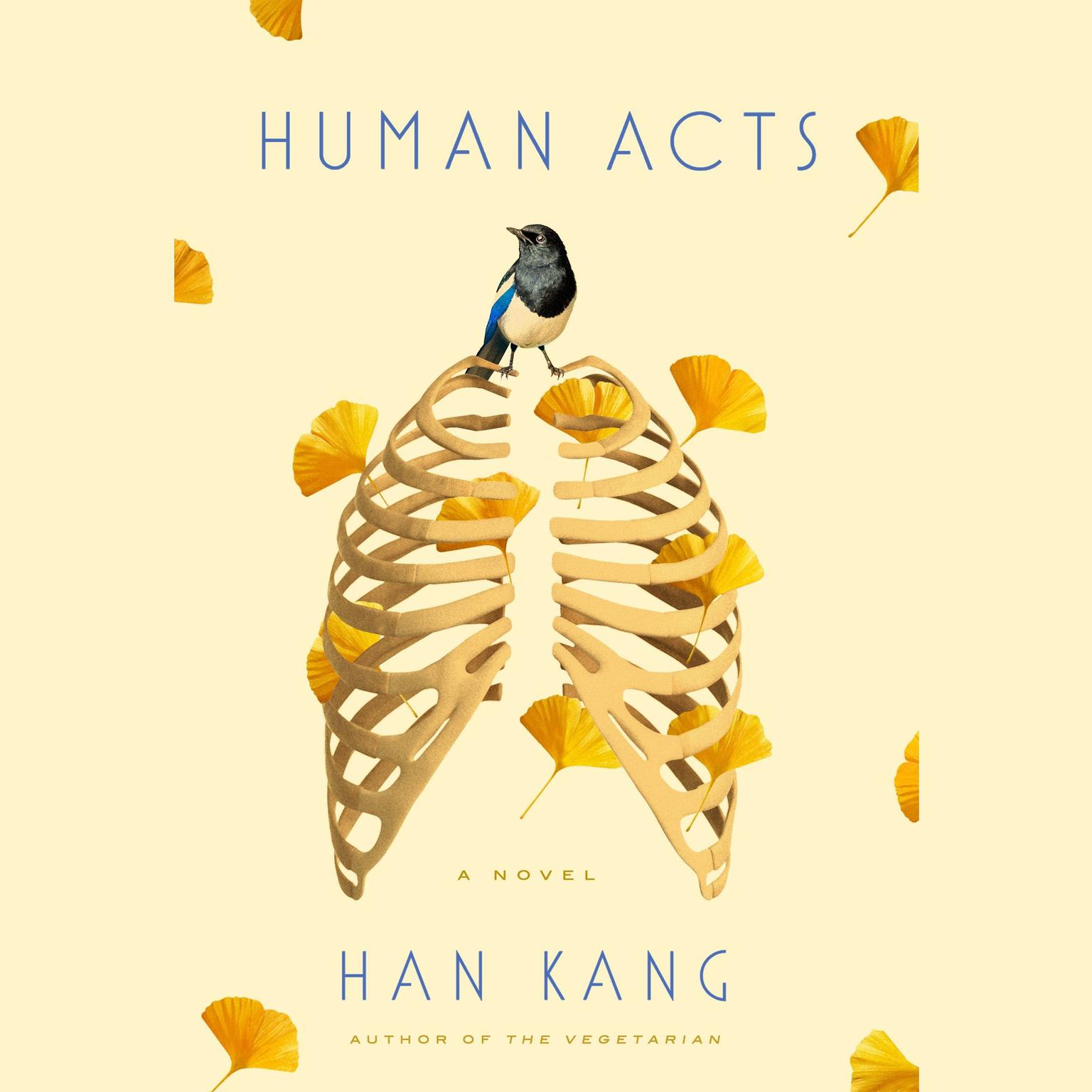 Printable Human Acts: A Novel Audiobook Cover Art