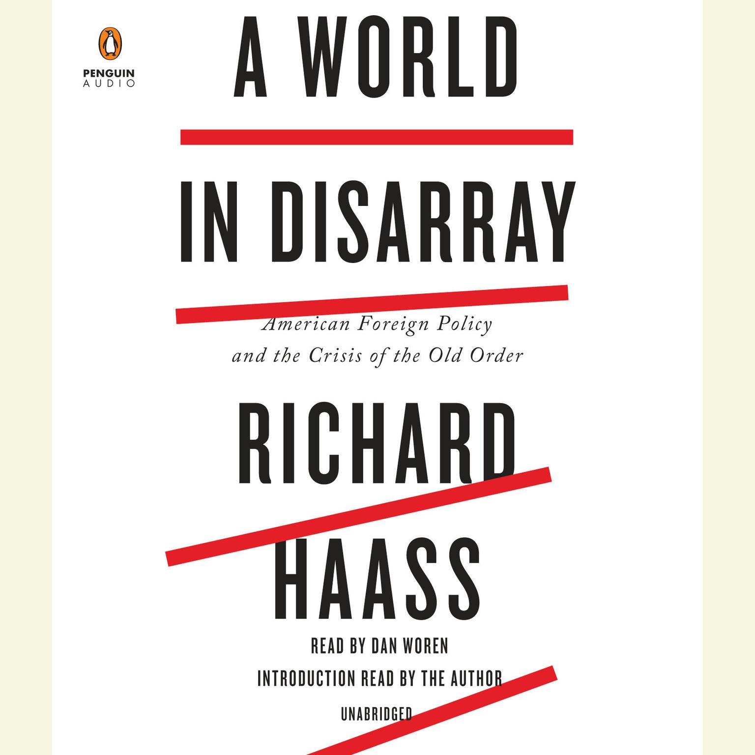 Printable A World in Disarray: American Foreign Policy and the Crisis of the Old Order Audiobook Cover Art