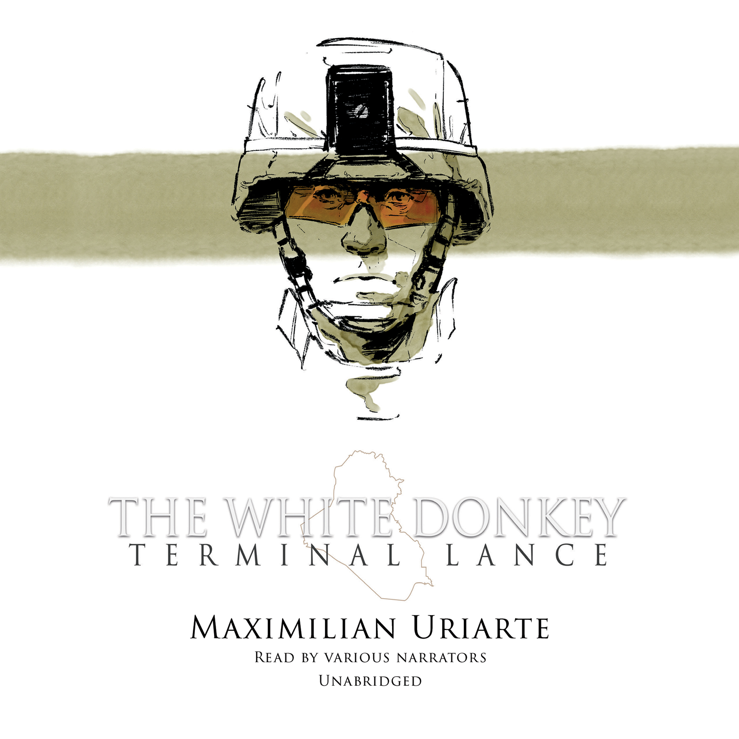 Printable The White Donkey: Terminal Lance Audiobook Cover Art