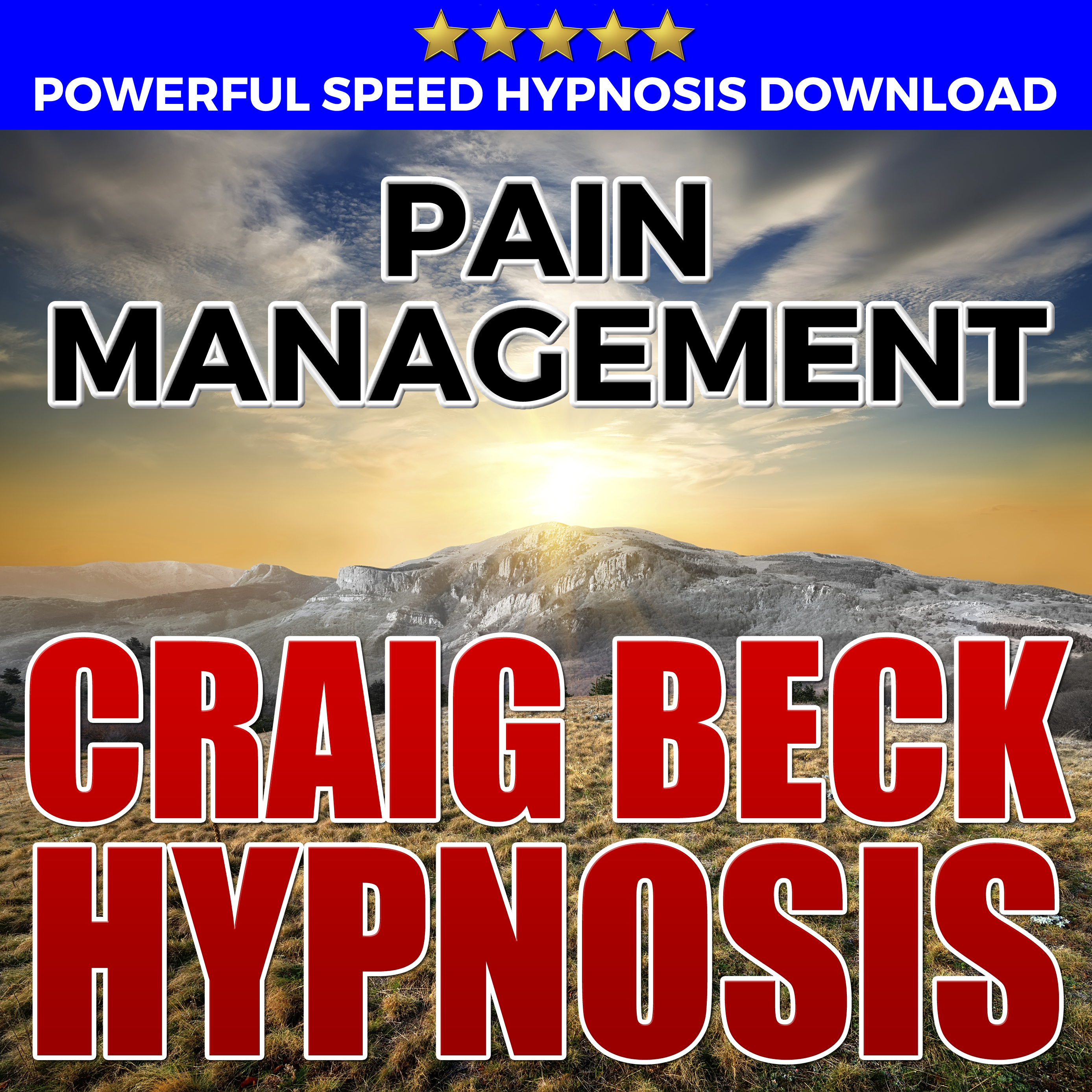 Printable Pain Management: Hypnosis Downloads Audiobook Cover Art