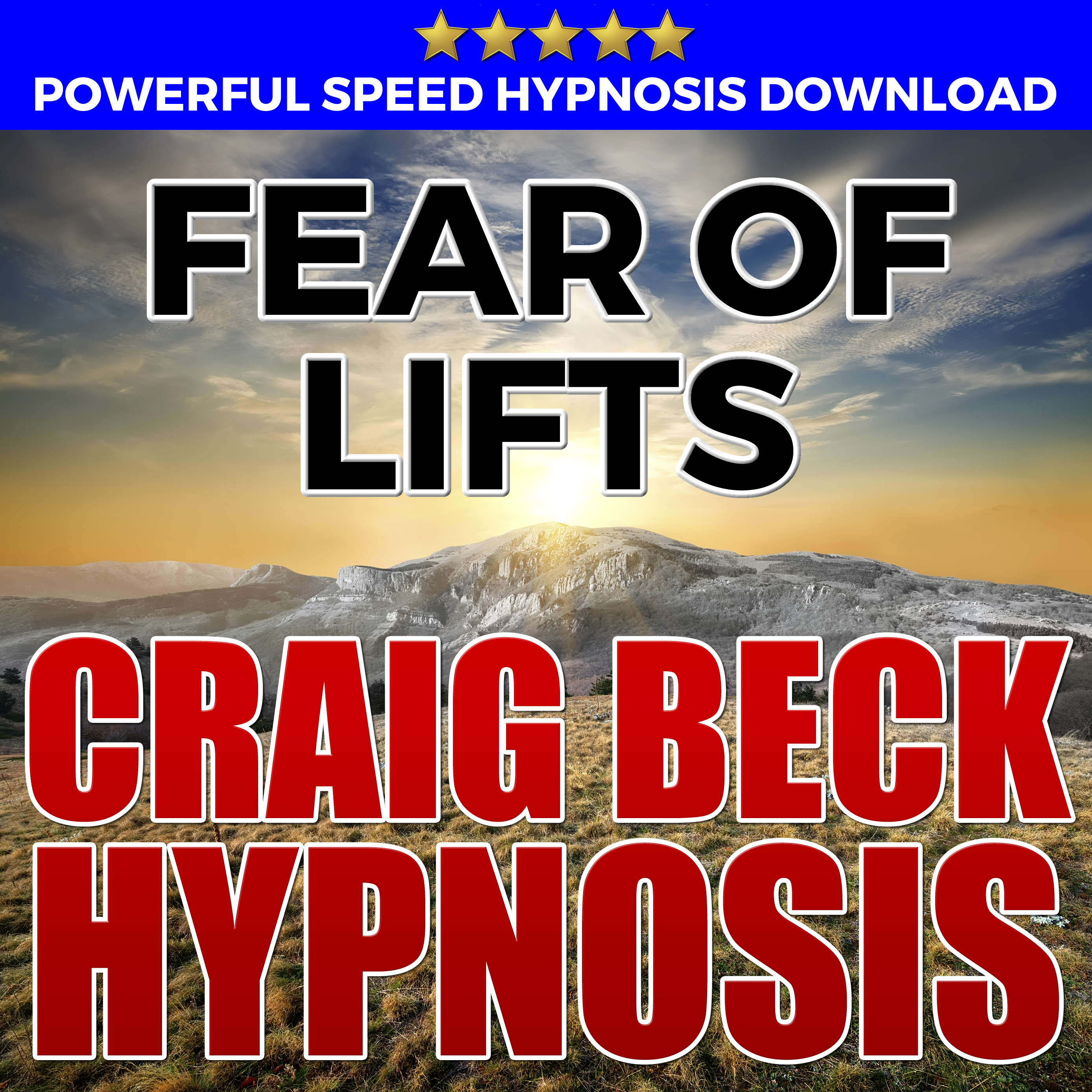 Printable Fear Of Lifts: Hypnosis Downloads Audiobook Cover Art