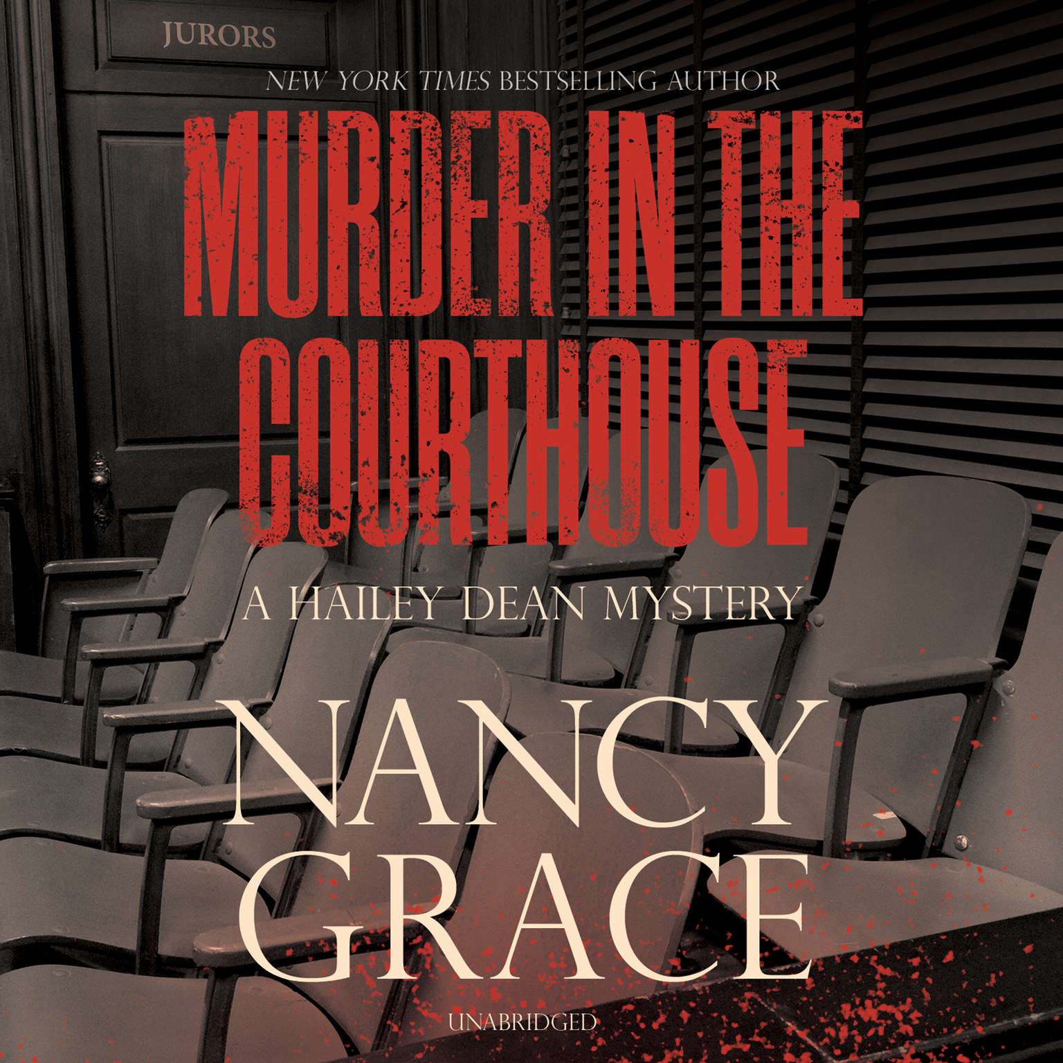 Printable Murder in the Courthouse: A Hailey Dean Mystery Audiobook Cover Art