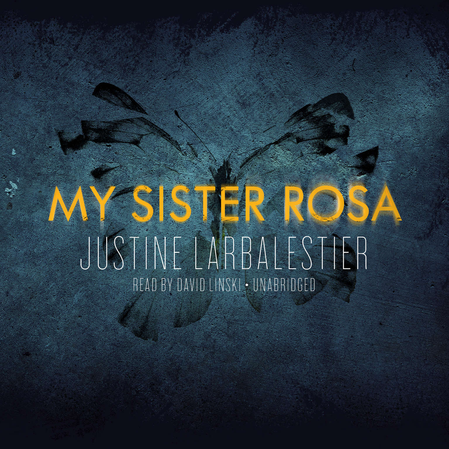 Printable My Sister Rosa Audiobook Cover Art