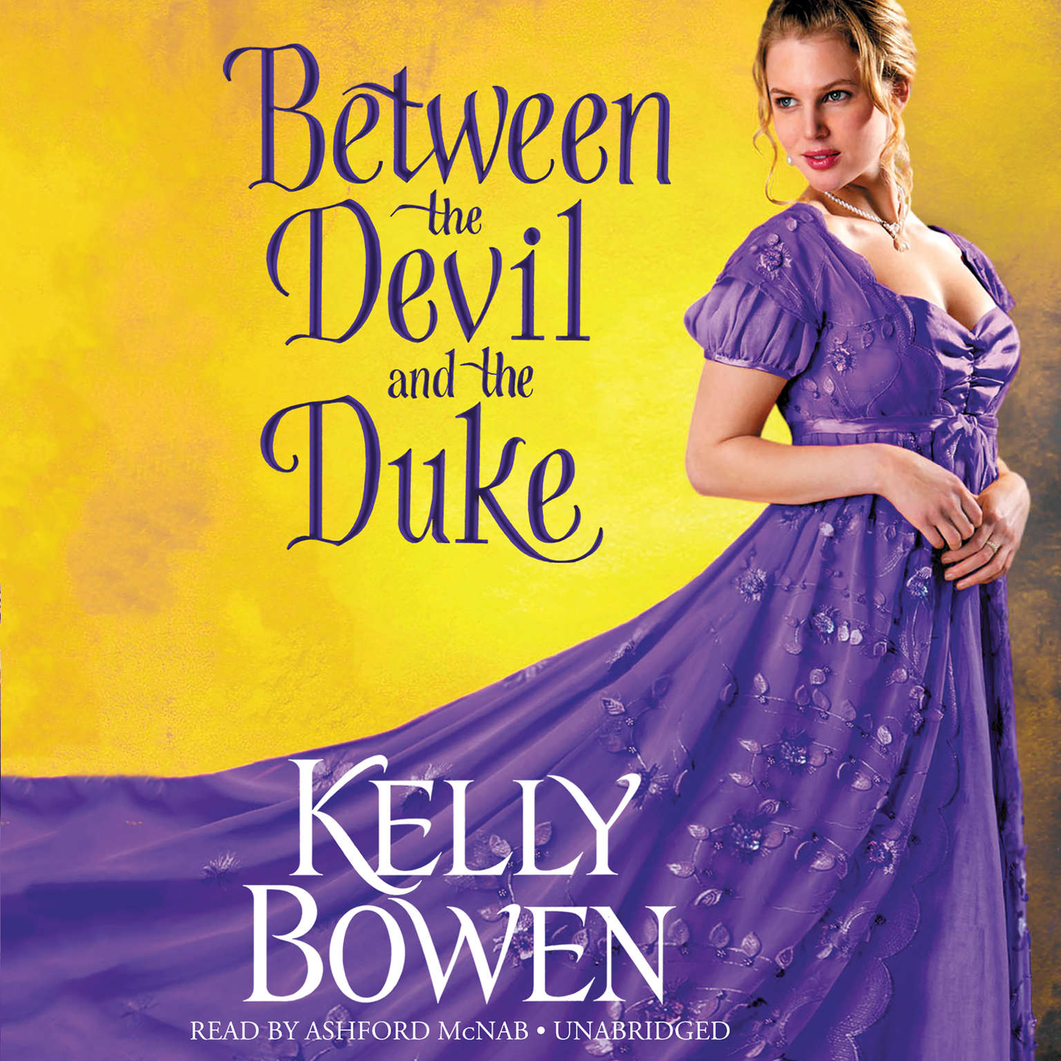 Printable Between the Devil and the Duke Audiobook Cover Art